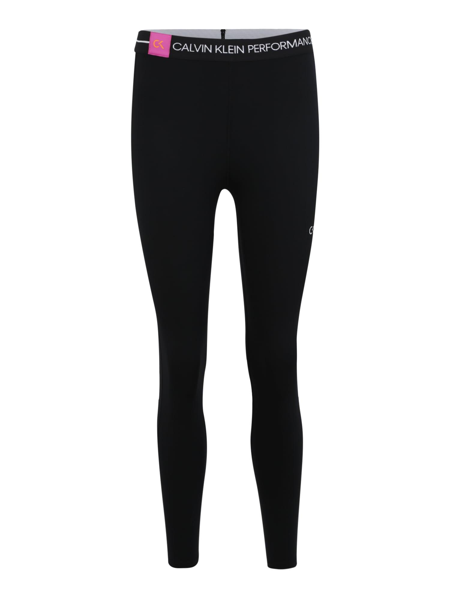 Sportovní kalhoty 78 TIGHT černá Calvin Klein Performance
