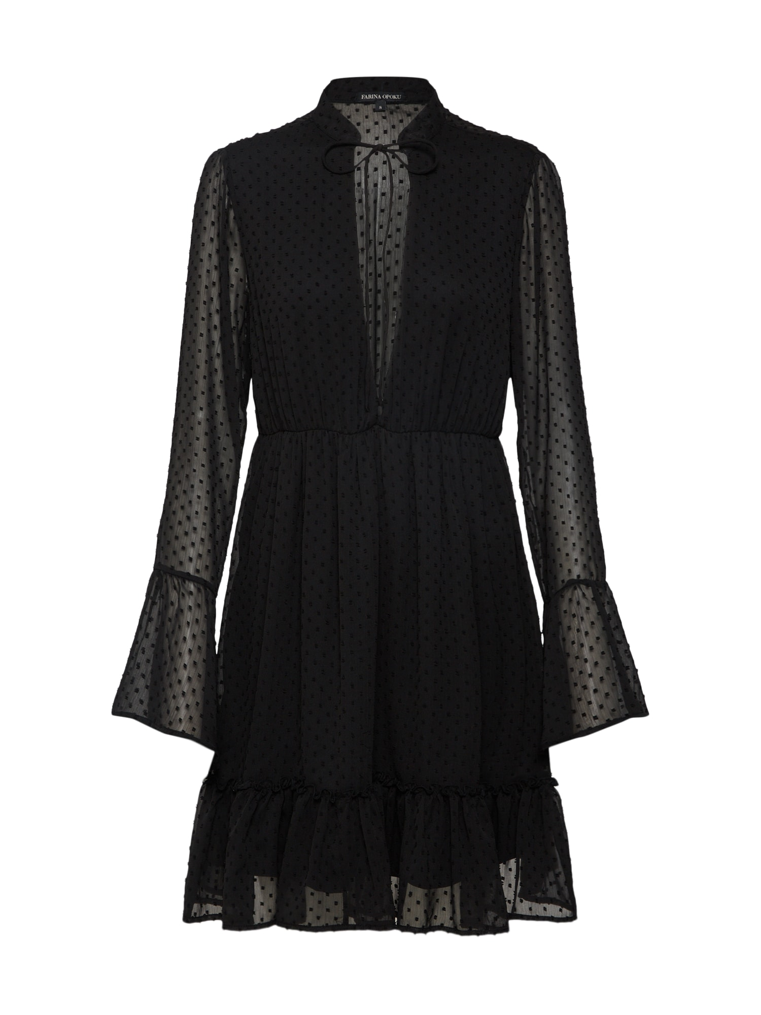 Šaty YADLEEN černá Farina Opoku