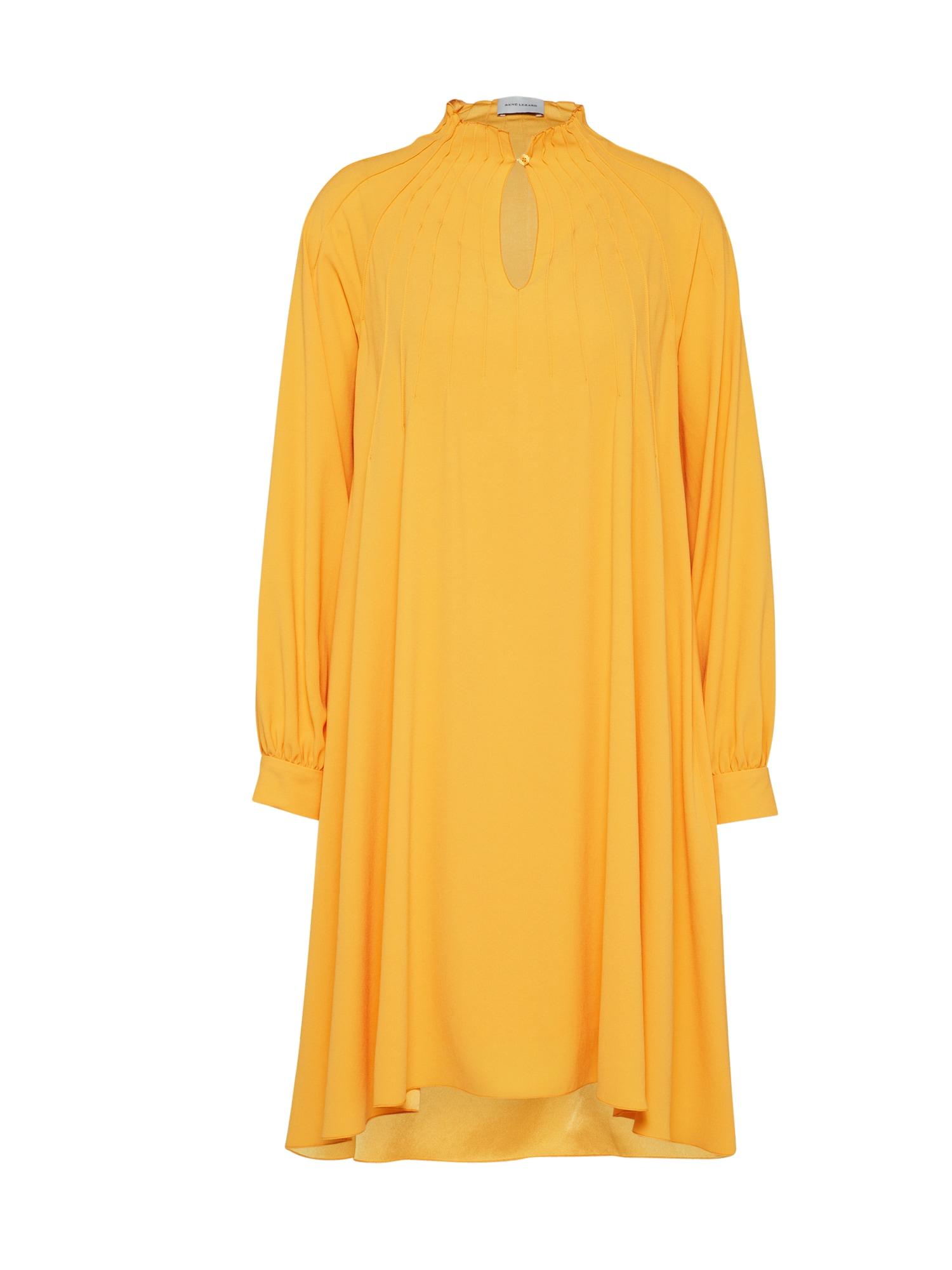 Košilové šaty E052S zlatě žlutá RENÉ LEZARD