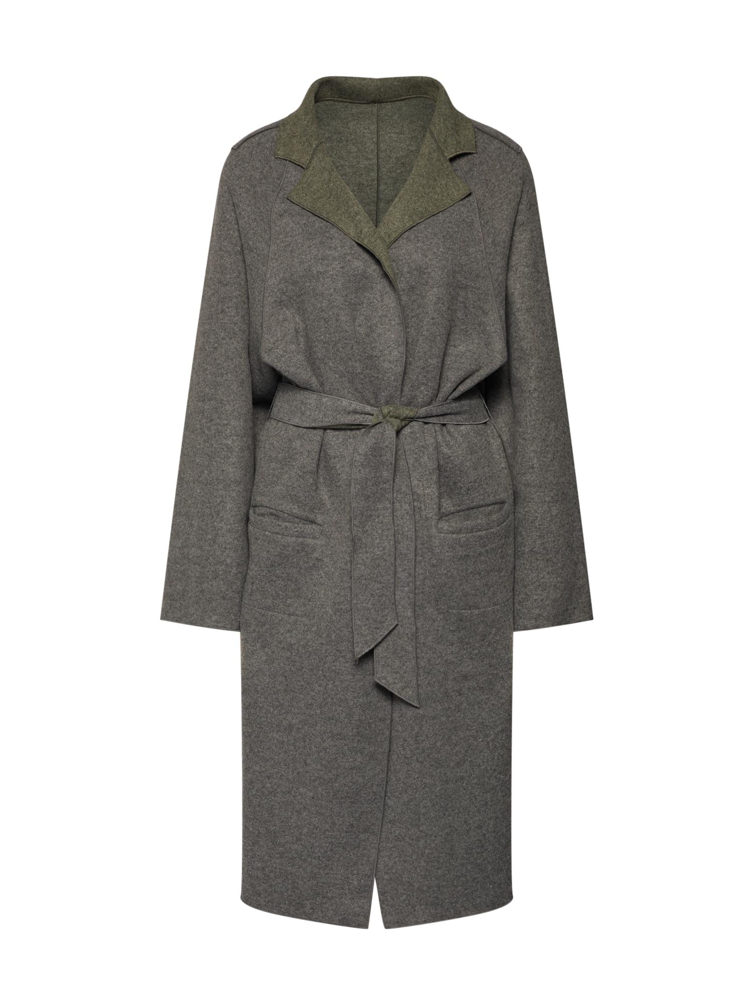 Přechodný kabát VIRADA tmavě šedá VILA
