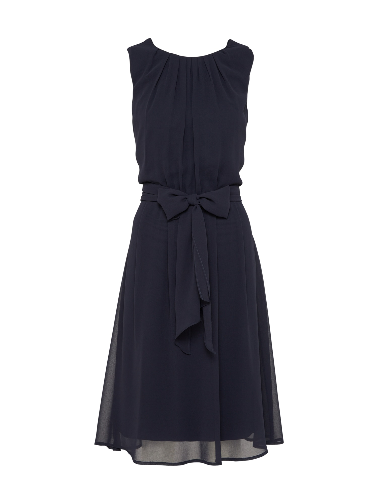 Esprit Collection, Dames Cocktailjurk 'New Fluid Chiff', navy