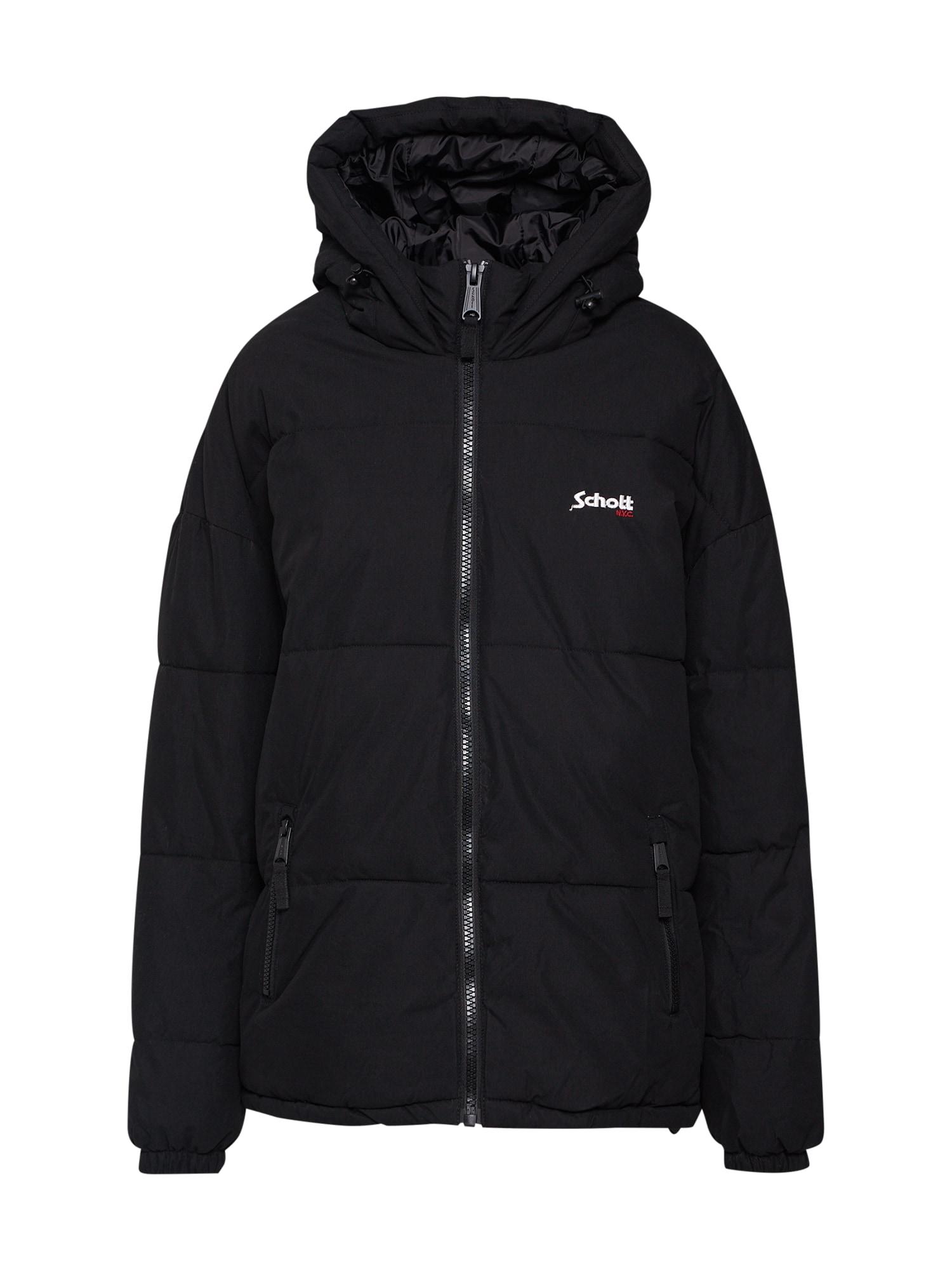 Zimní bunda JKT Alaska černá Schott NYC
