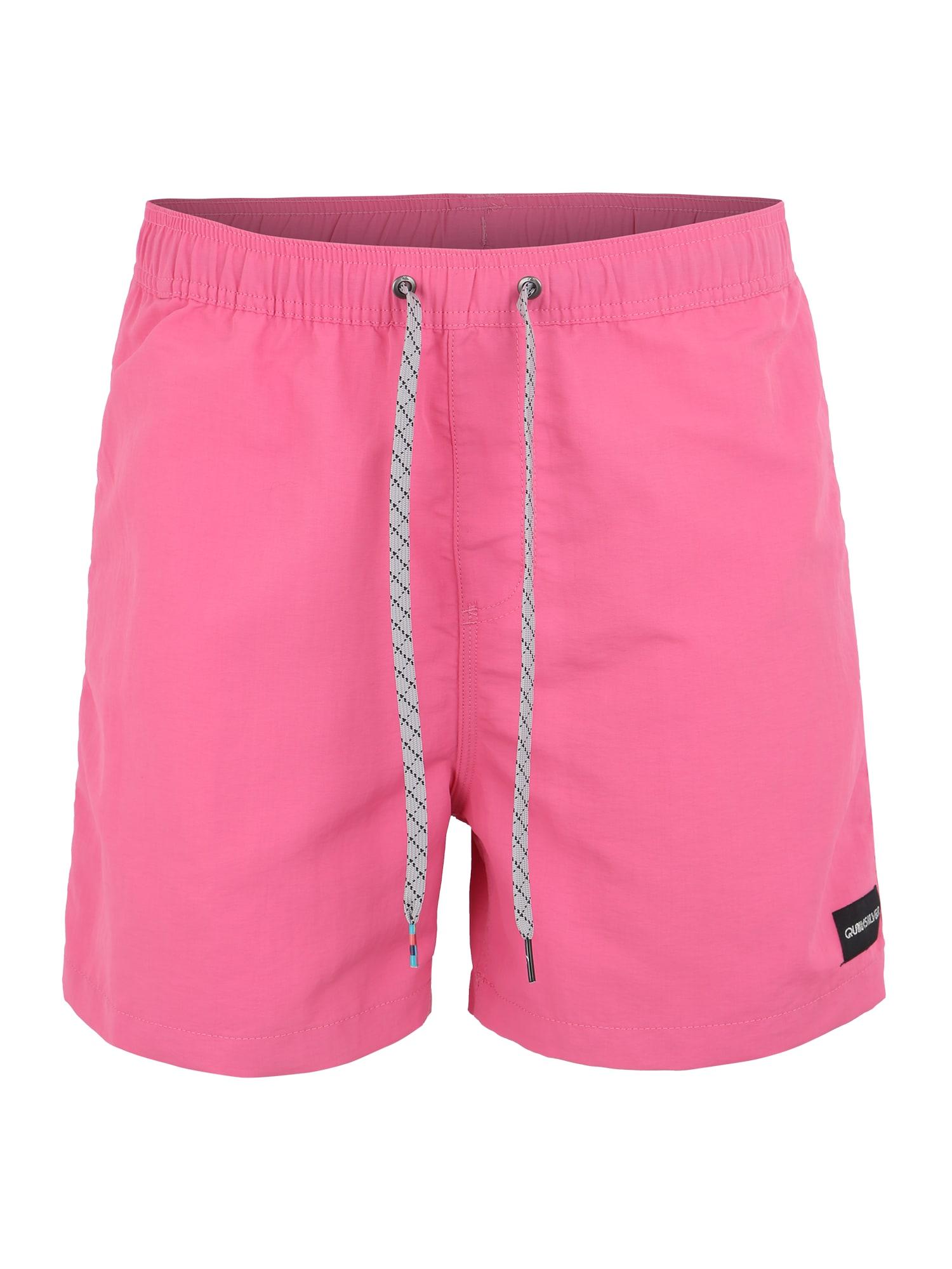 Plavecké šortky VIBES VOLLEY 16 pink QUIKSILVER