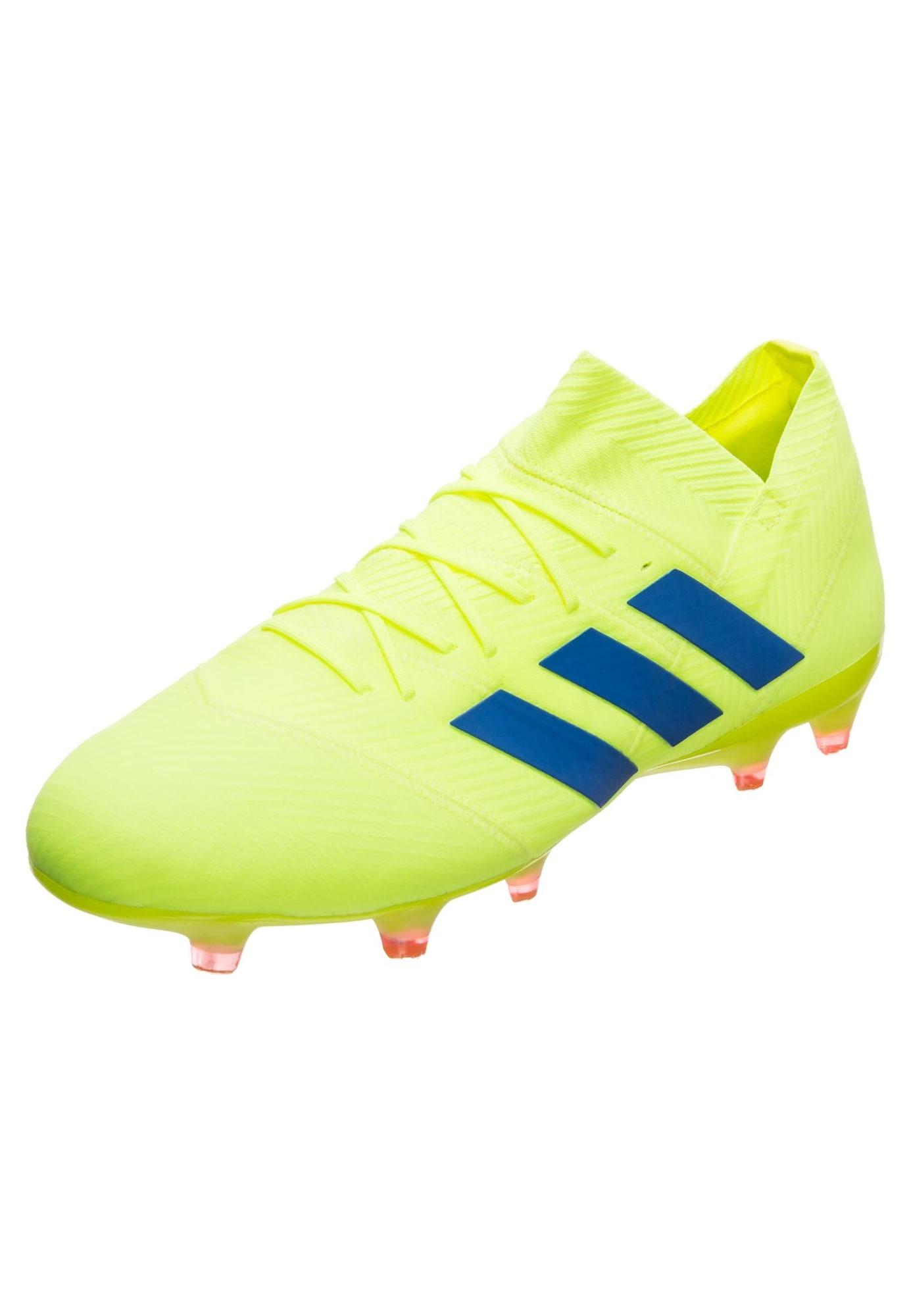 Fußballschuh 'Nemeziz 18.1 FG' | Schuhe > Sportschuhe > Fußballschuhe | Blau - Rot | ADIDAS PERFORMANCE