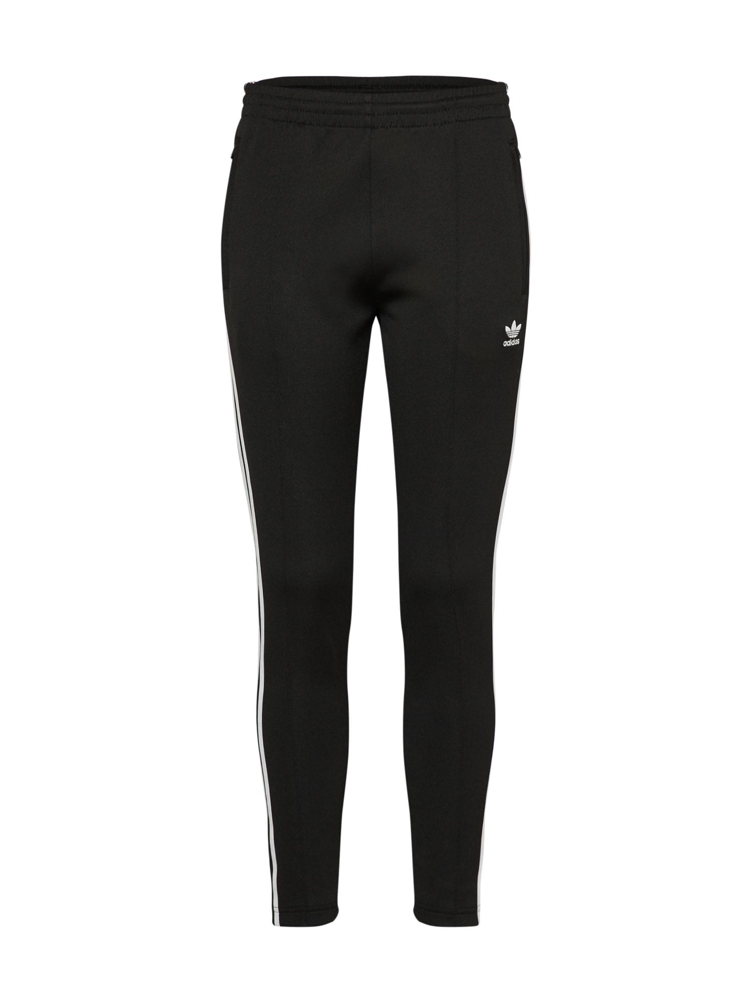 Kalhoty černá bílá ADIDAS ORIGINALS