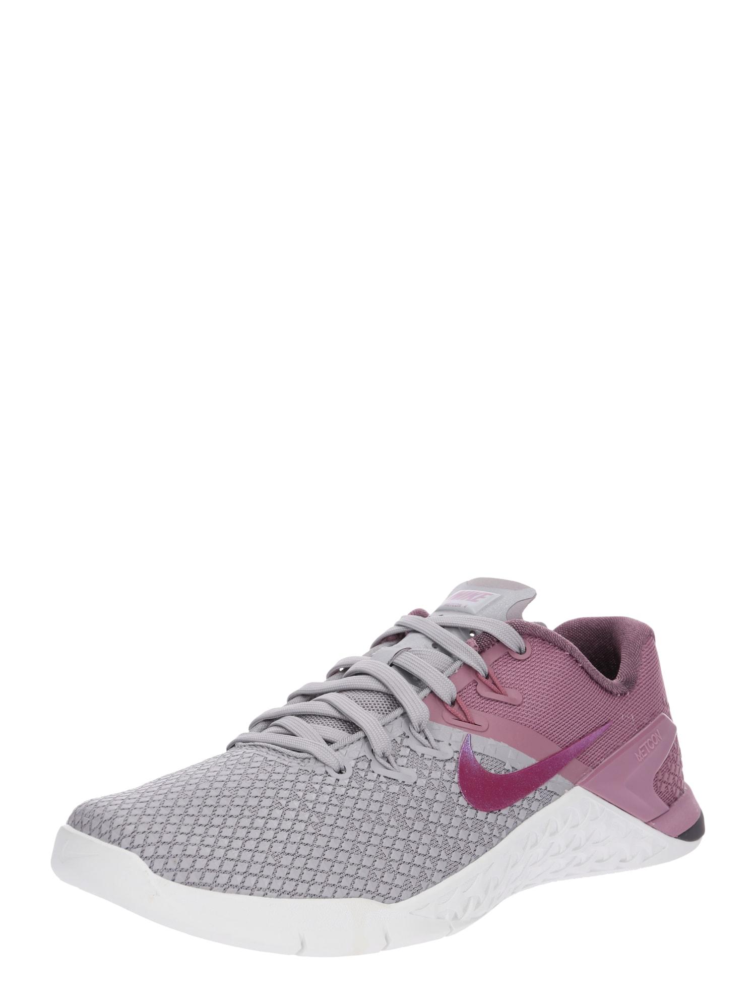 Sportovní boty WMNS METCON 4 XD šedá bobule NIKE