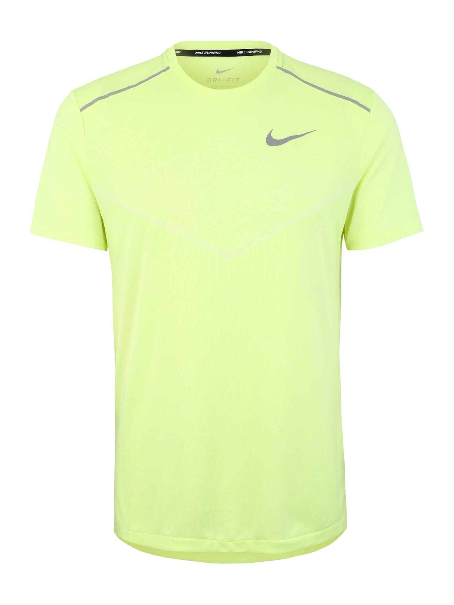 Funkční tričko M NK Techknit CL svítivě zelená NIKE