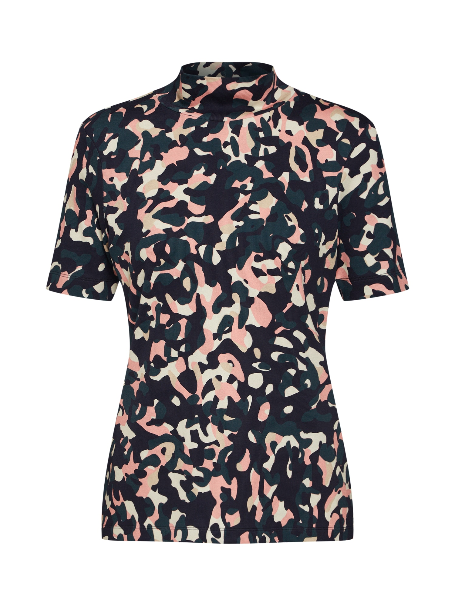 Tričko růžová černá bílá LAUREL