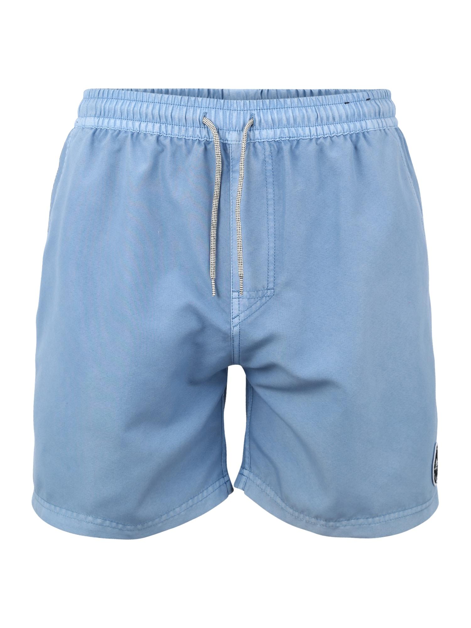 Plavecké šortky VOLLEY SUNSET SHADES 16 modrá RIP CURL
