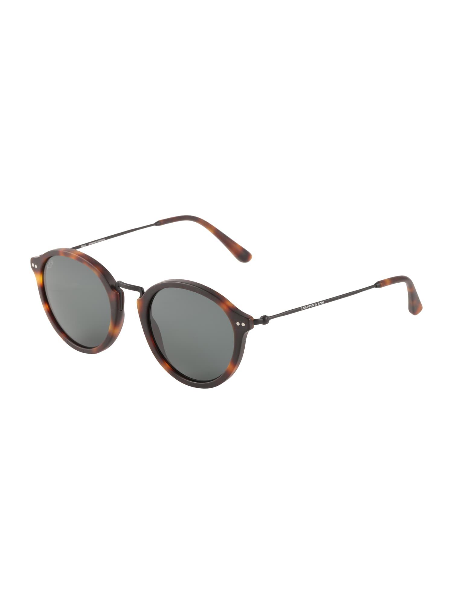 Sluneční brýle Maui hnědá černá Kapten & Son
