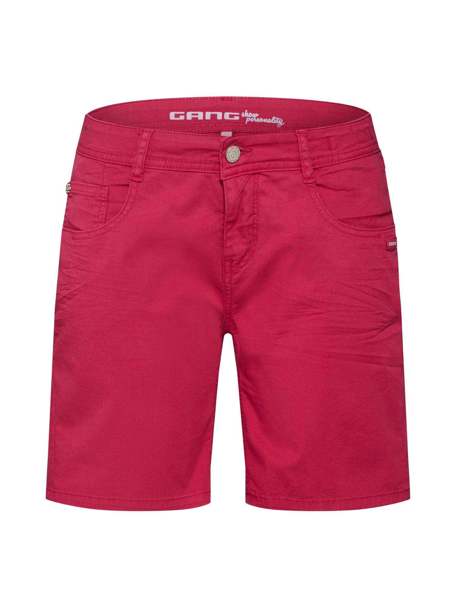Kalhoty Amelie červená Gang