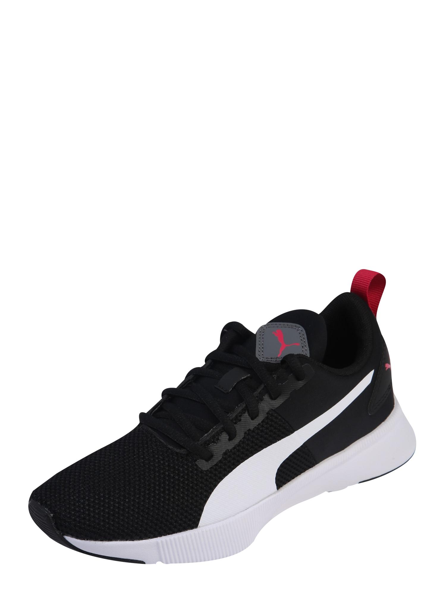 PUMA Sportovní boty 'Flyer Runner Jr'  bílá / černá