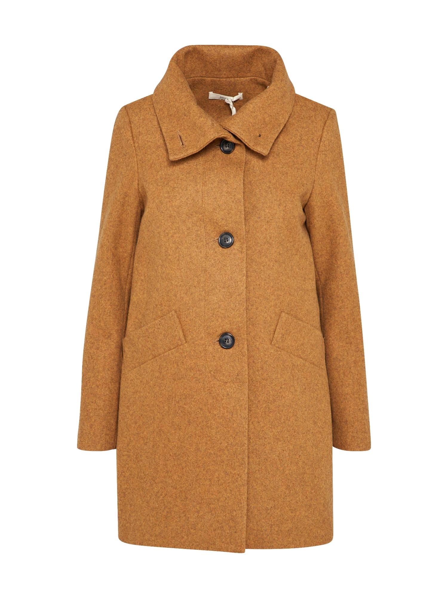 Přechodný kabát Chera hořčicová Sessun