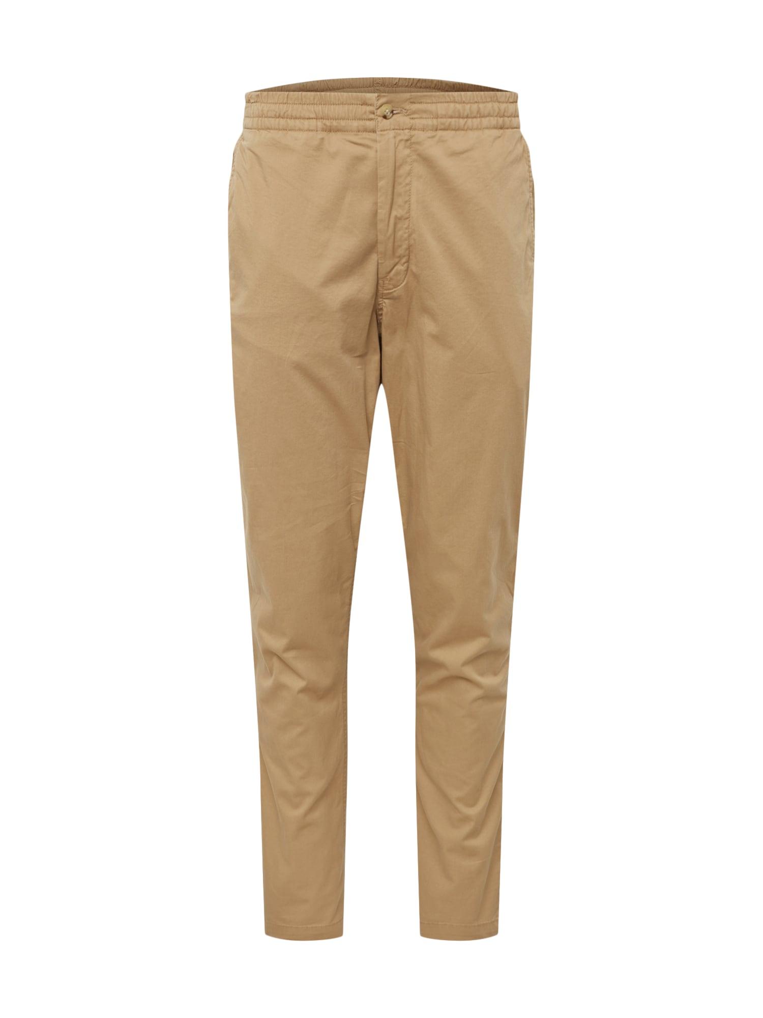 Chino kalhoty CFPREPSTERP-FLAT-PANT béžová POLO RALPH LAUREN
