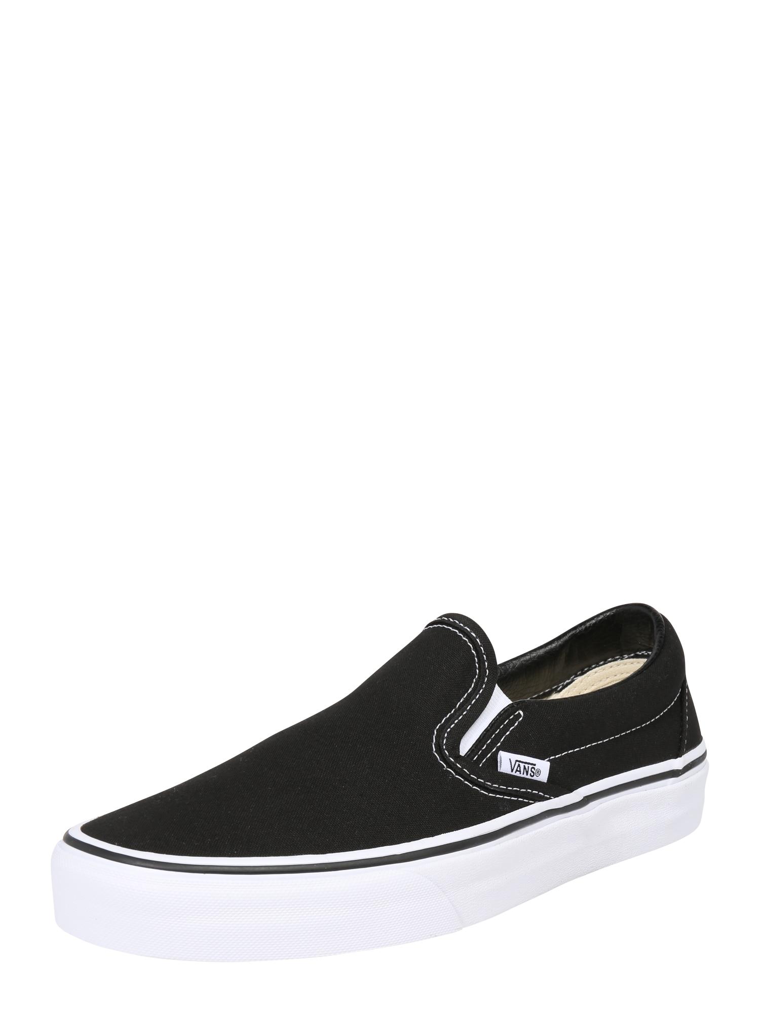 Slip on boty černá VANS