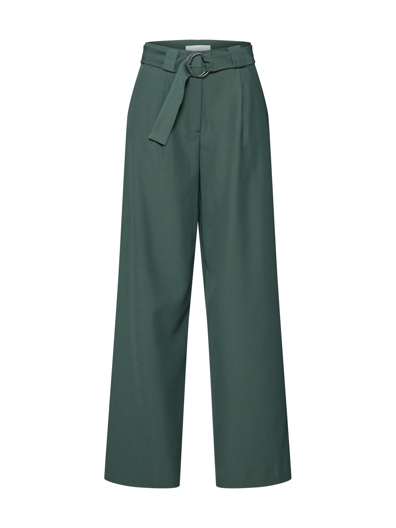 Kalhoty MEKELA zelená VILA