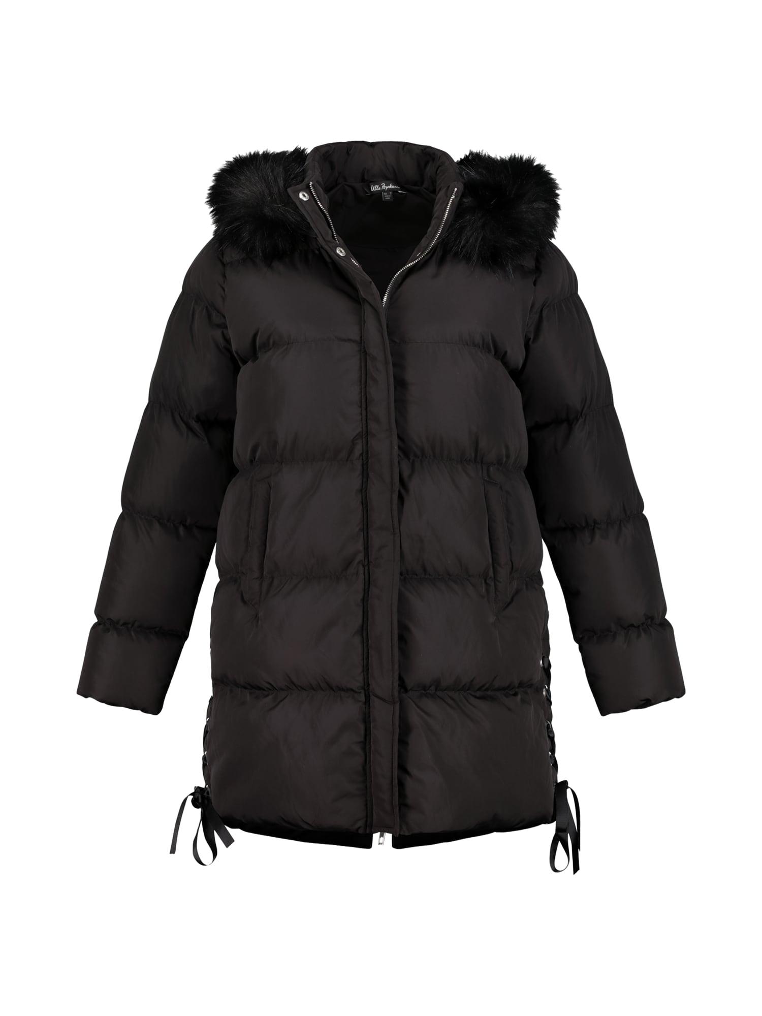 Zimní kabát černá Ulla Popken