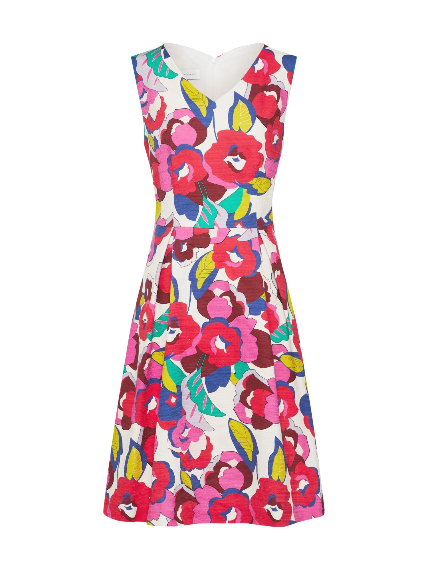 Koktejlové šaty mix barev RENÉ LEZARD