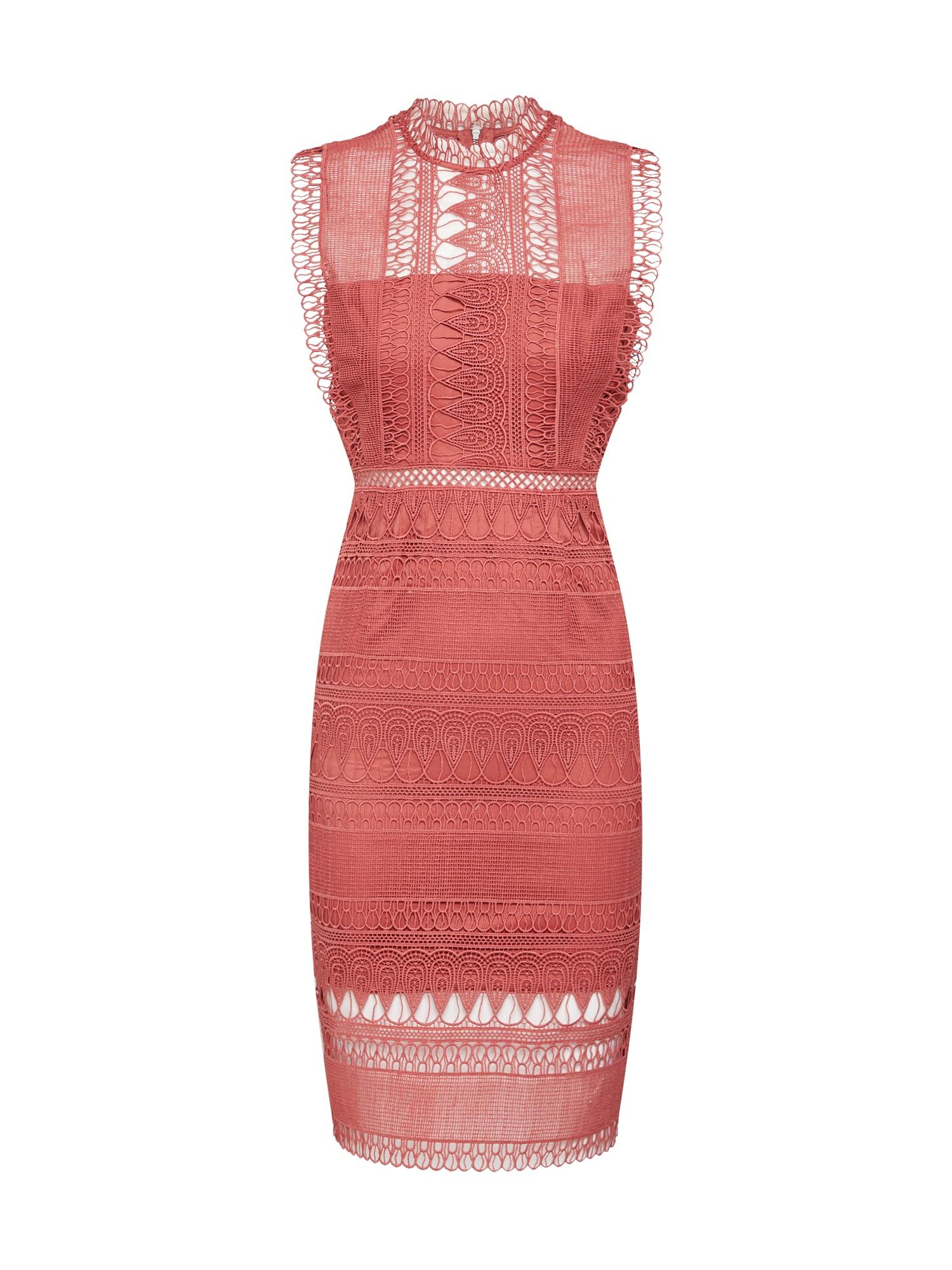 Bardot Sukienka koktajlowa  rdzawoczerwony