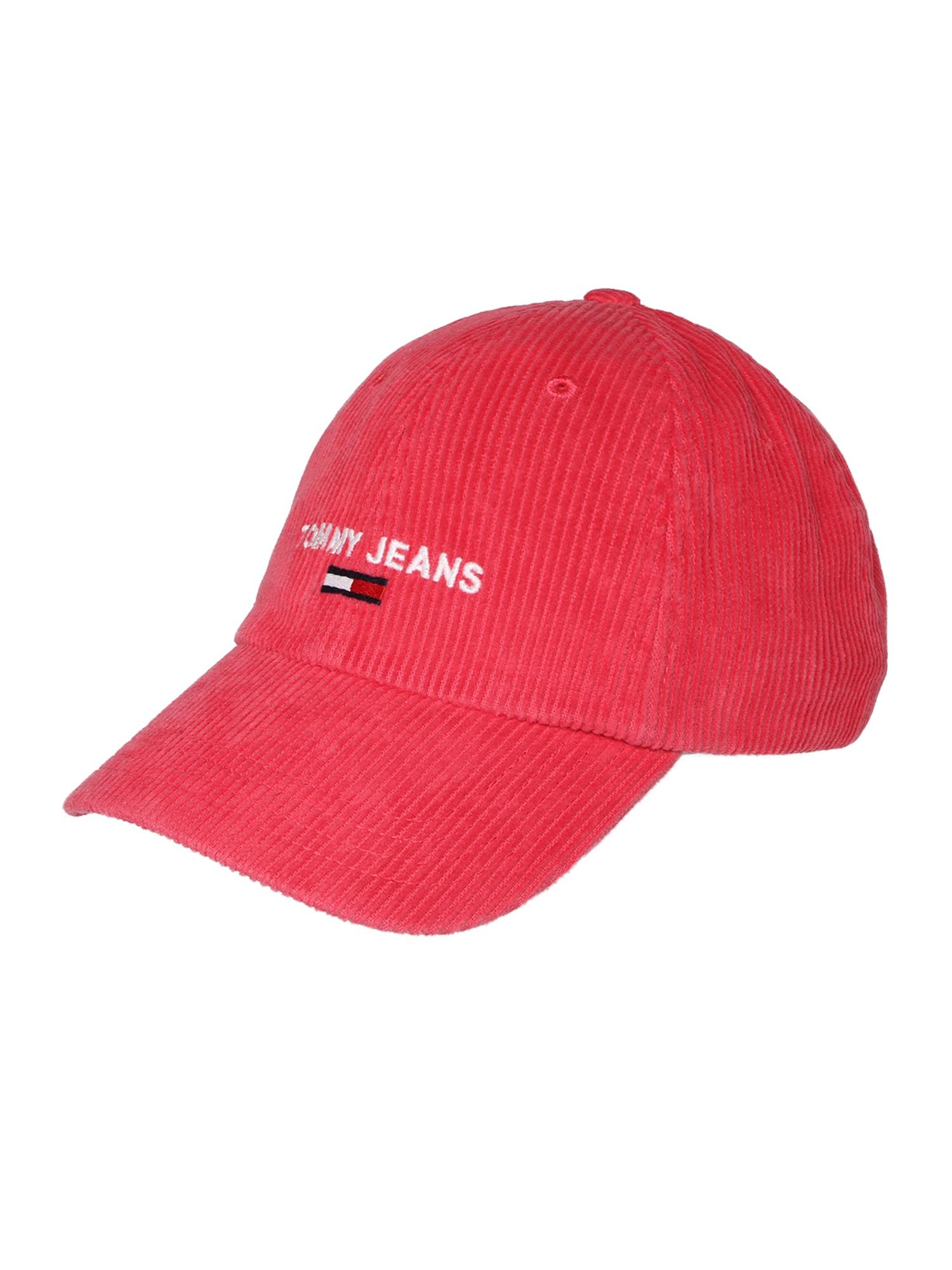 Čepice červená Tommy Jeans