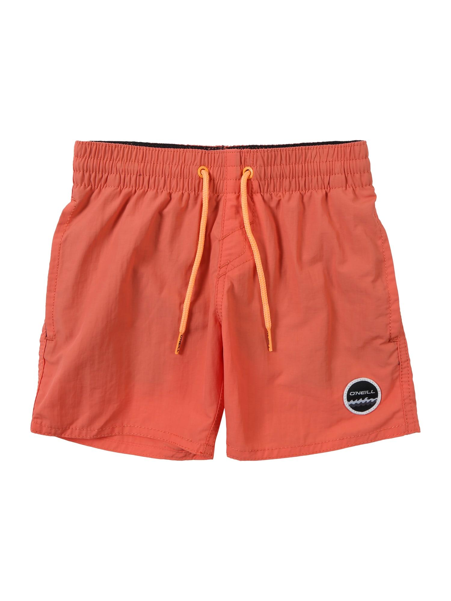 ONEILL Plavecké šortky PB VERT SHORTS oranžová O'NEILL