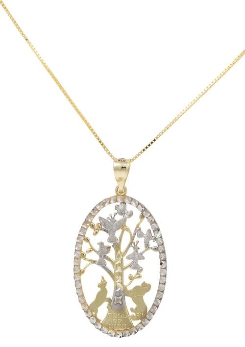 Halsschmuck: Halskette »Lebensbaum« in Venezian...