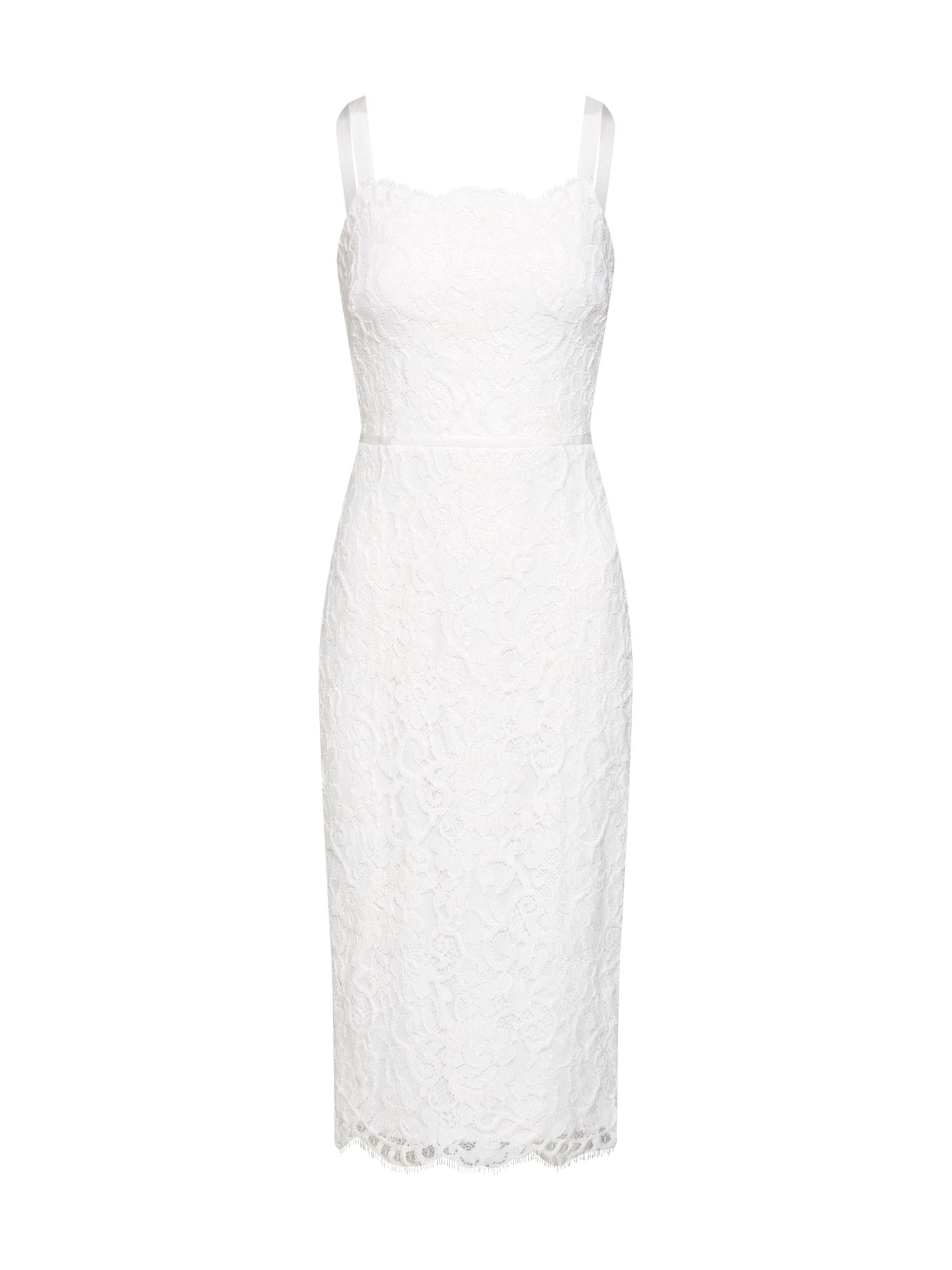 Pouzdrové šaty MAI bílá Lauren Ralph Lauren