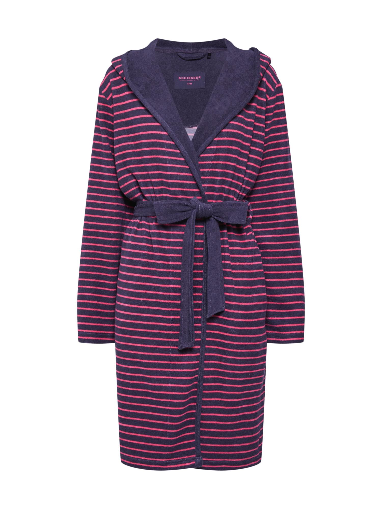 Morgenmantel | Bekleidung > Homewear > Morgenmäntel | Pink | SCHIESSER