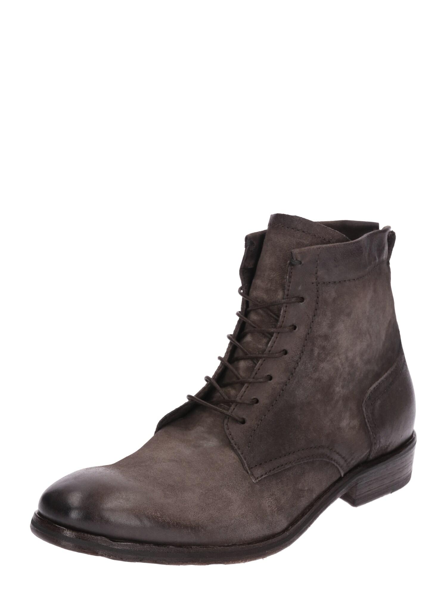 Šněrovací boty MASON tmavě hnědá A.S.98
