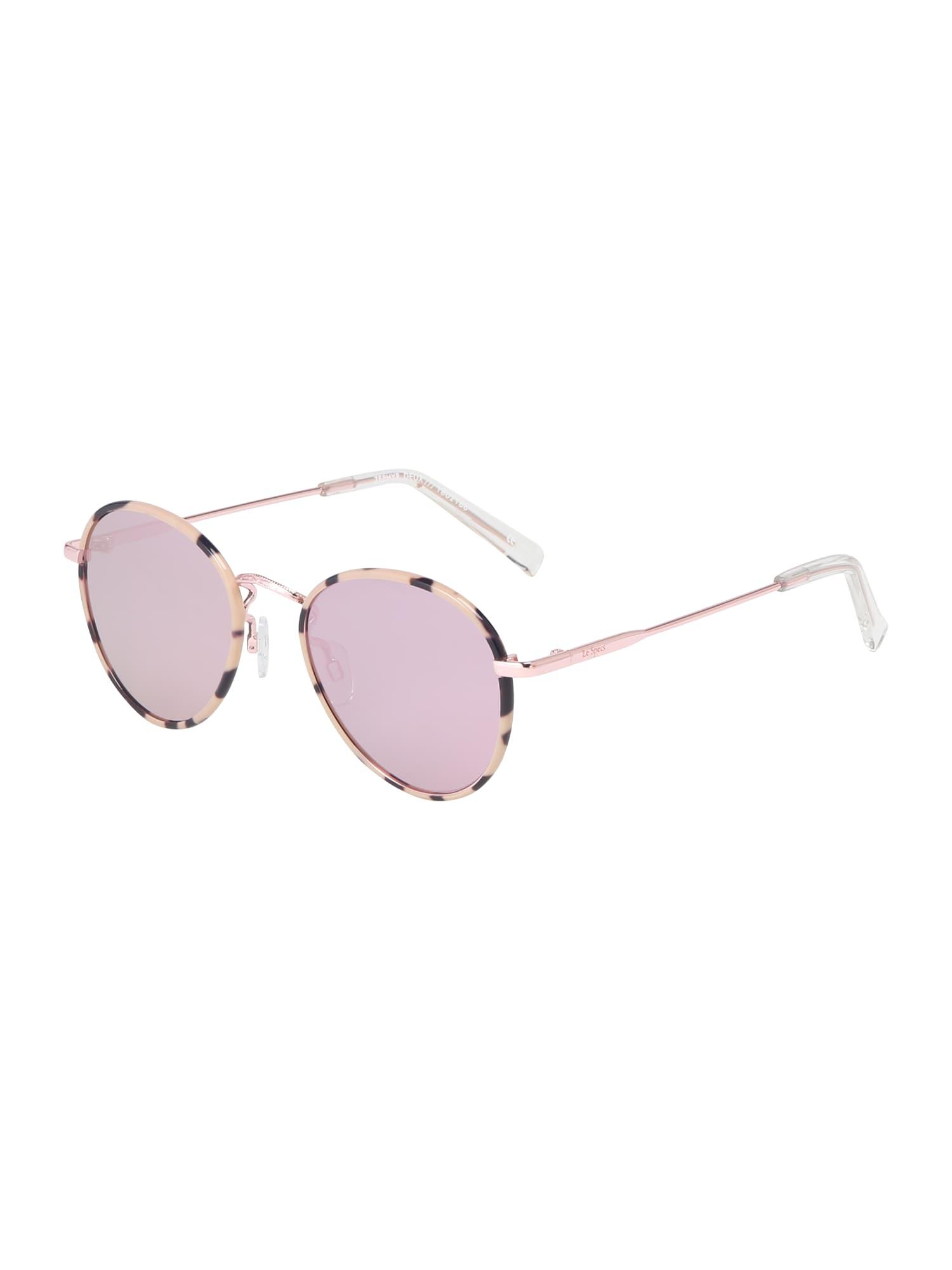 Sluneční brýle ZEPHYR DEUX růžově zlatá růžová LE SPECS