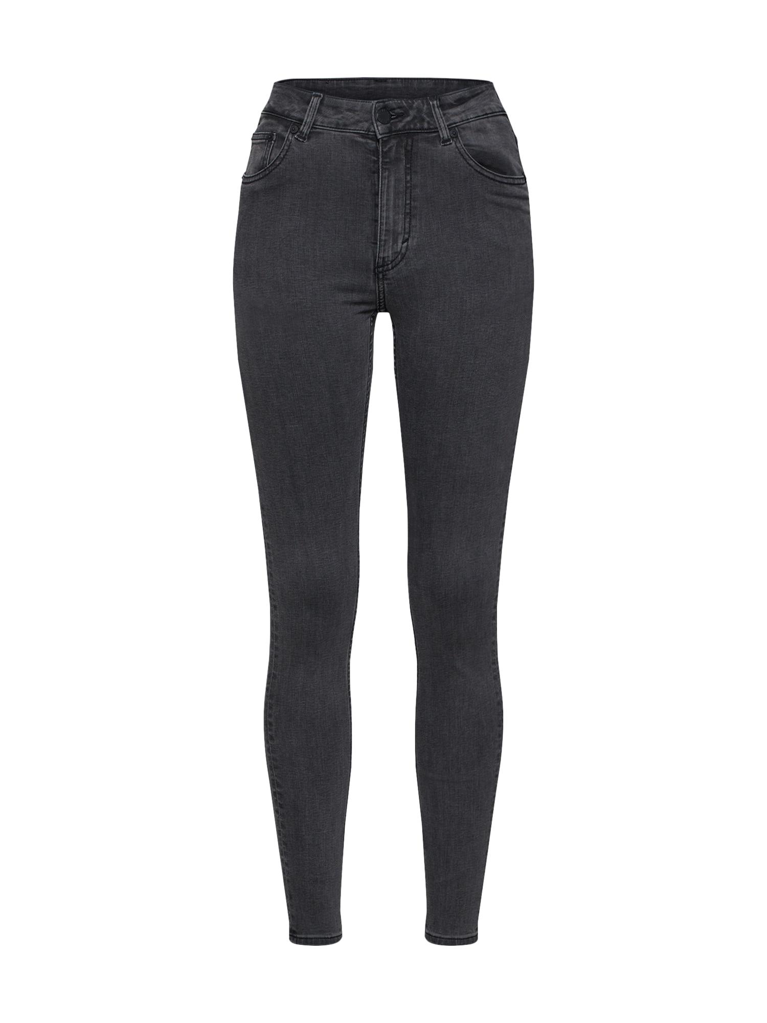 CHEAP MONDAY Dames Jeans High Skin grey denim