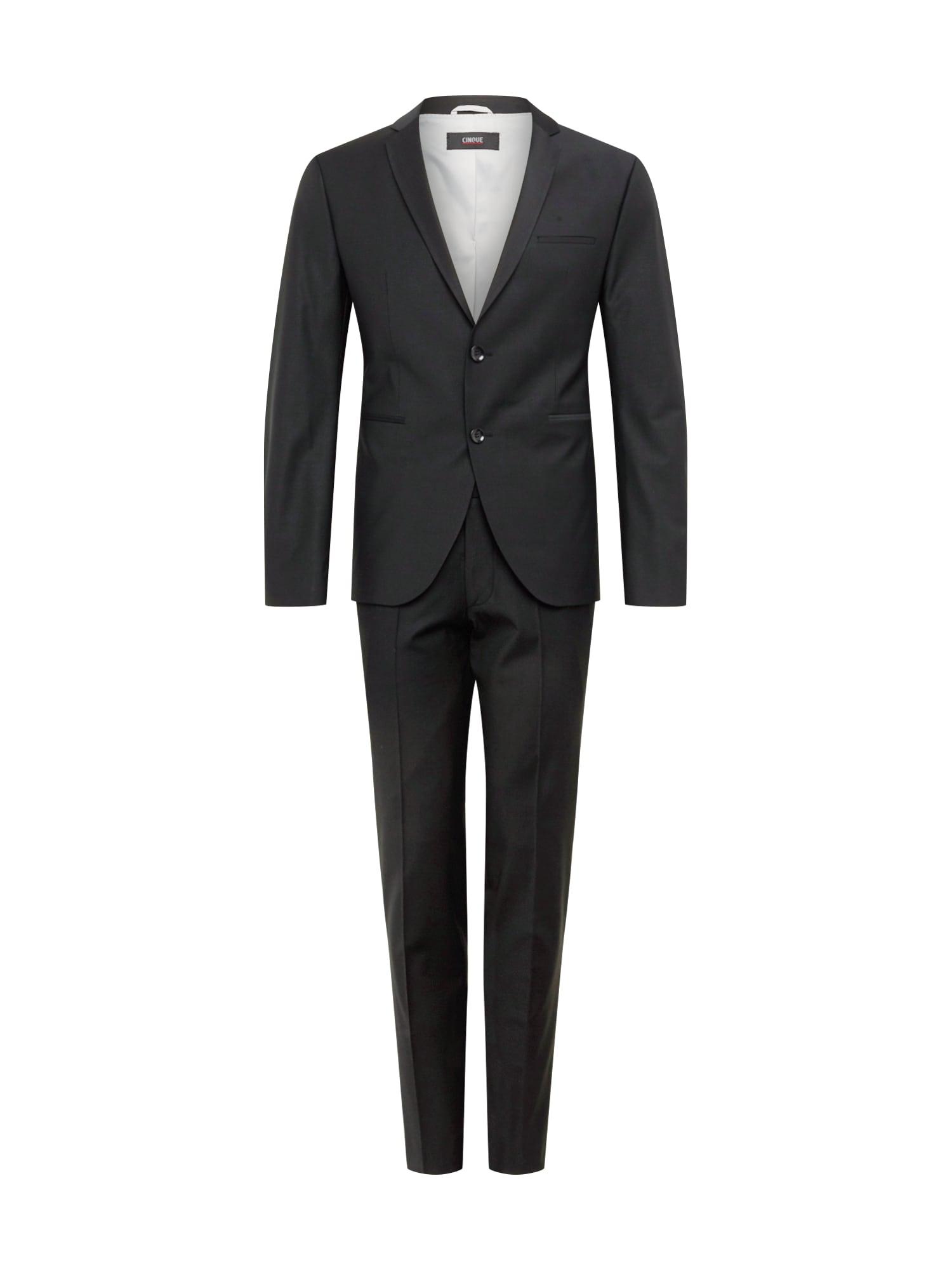 Oblek CIFARO černá CINQUE