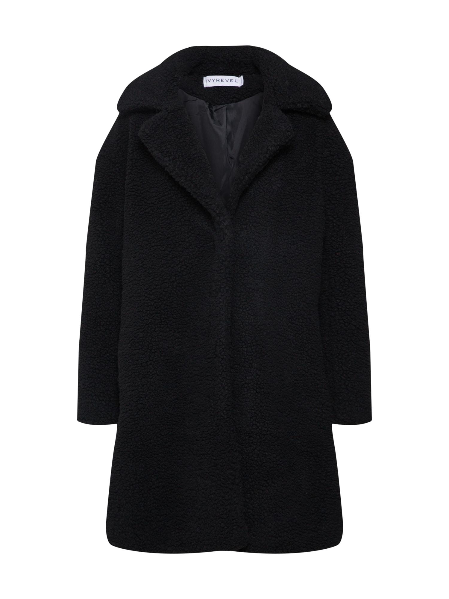 Zimní kabát CALIA černá IVYREVEL
