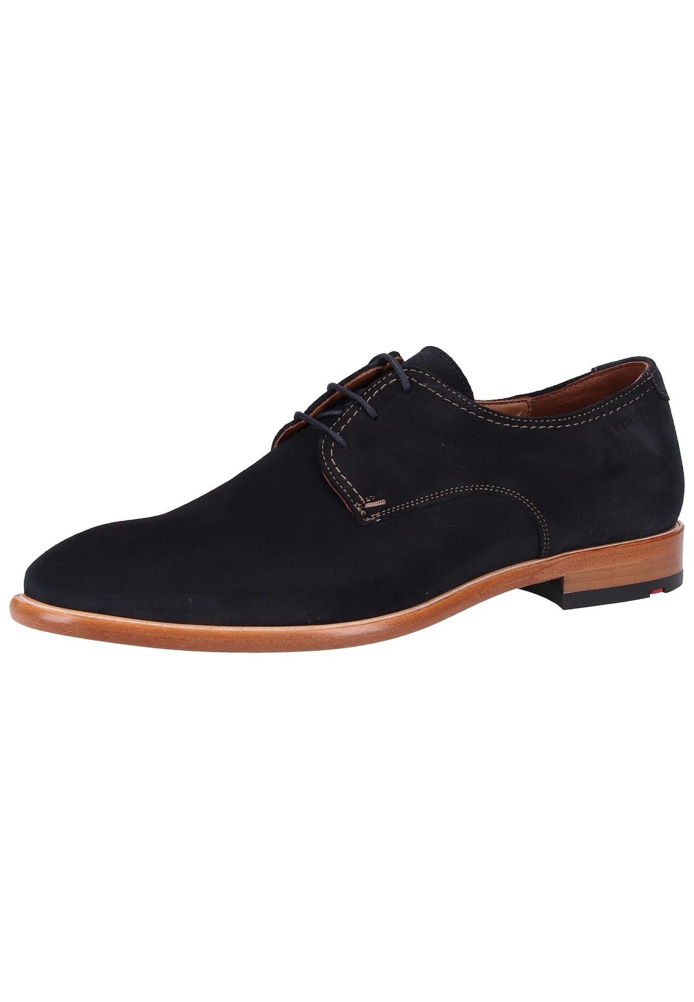 Šněrovací boty ultramarínová modř LLOYD