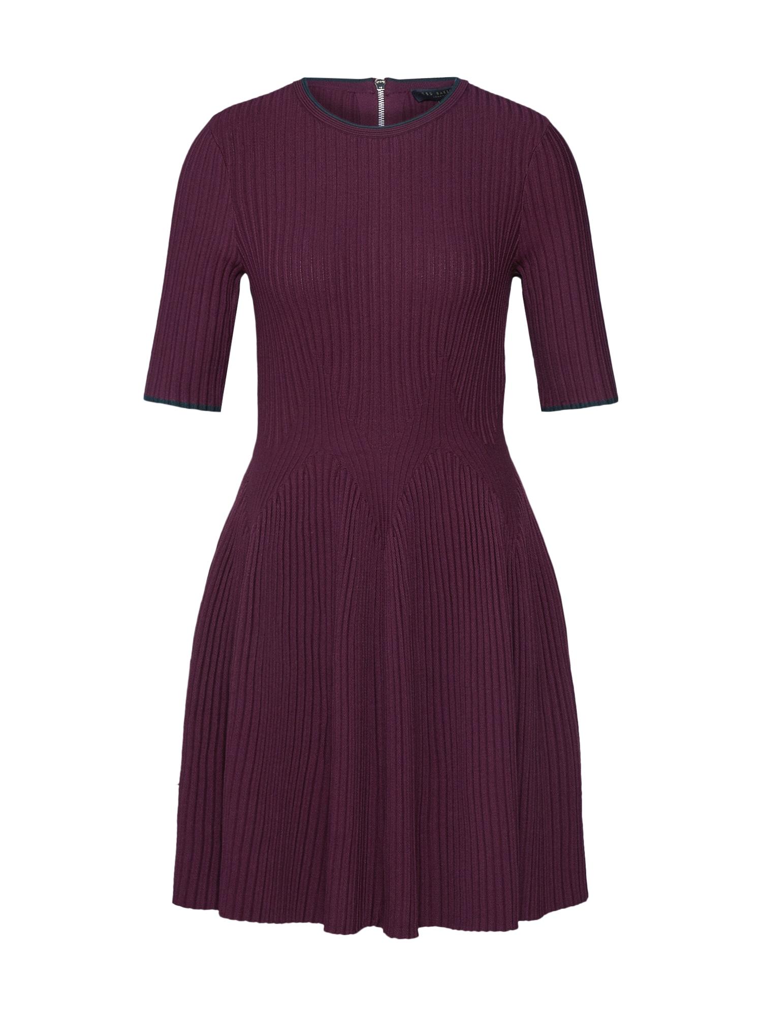Ted Baker Koktejlové šaty 'Renyina'  fialová