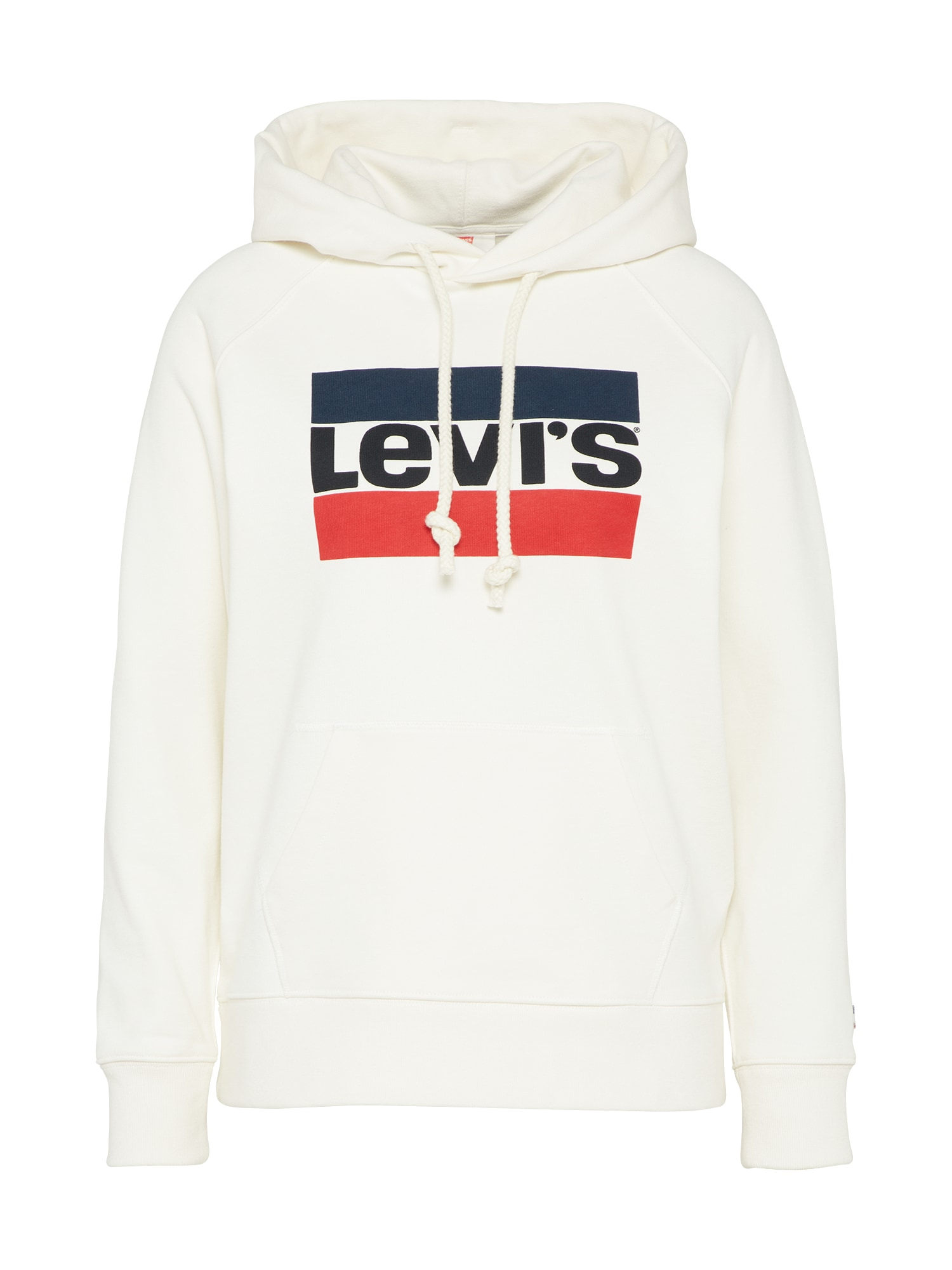 LEVI'S Dames Sweatshirt GRAPHIC SPORT HOODIE wit