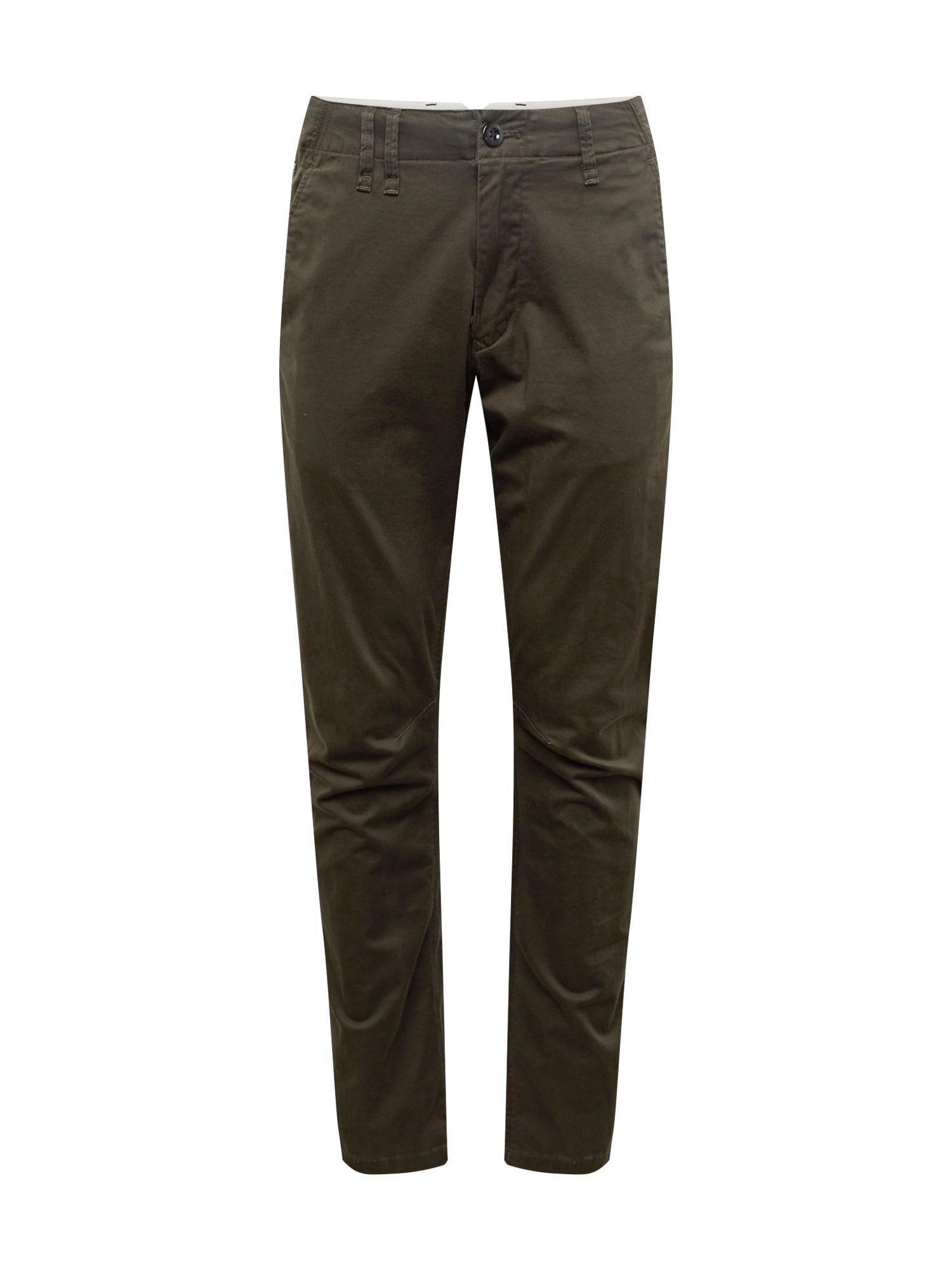 Chino kalhoty Vetar slim khaki černá G-STAR RAW
