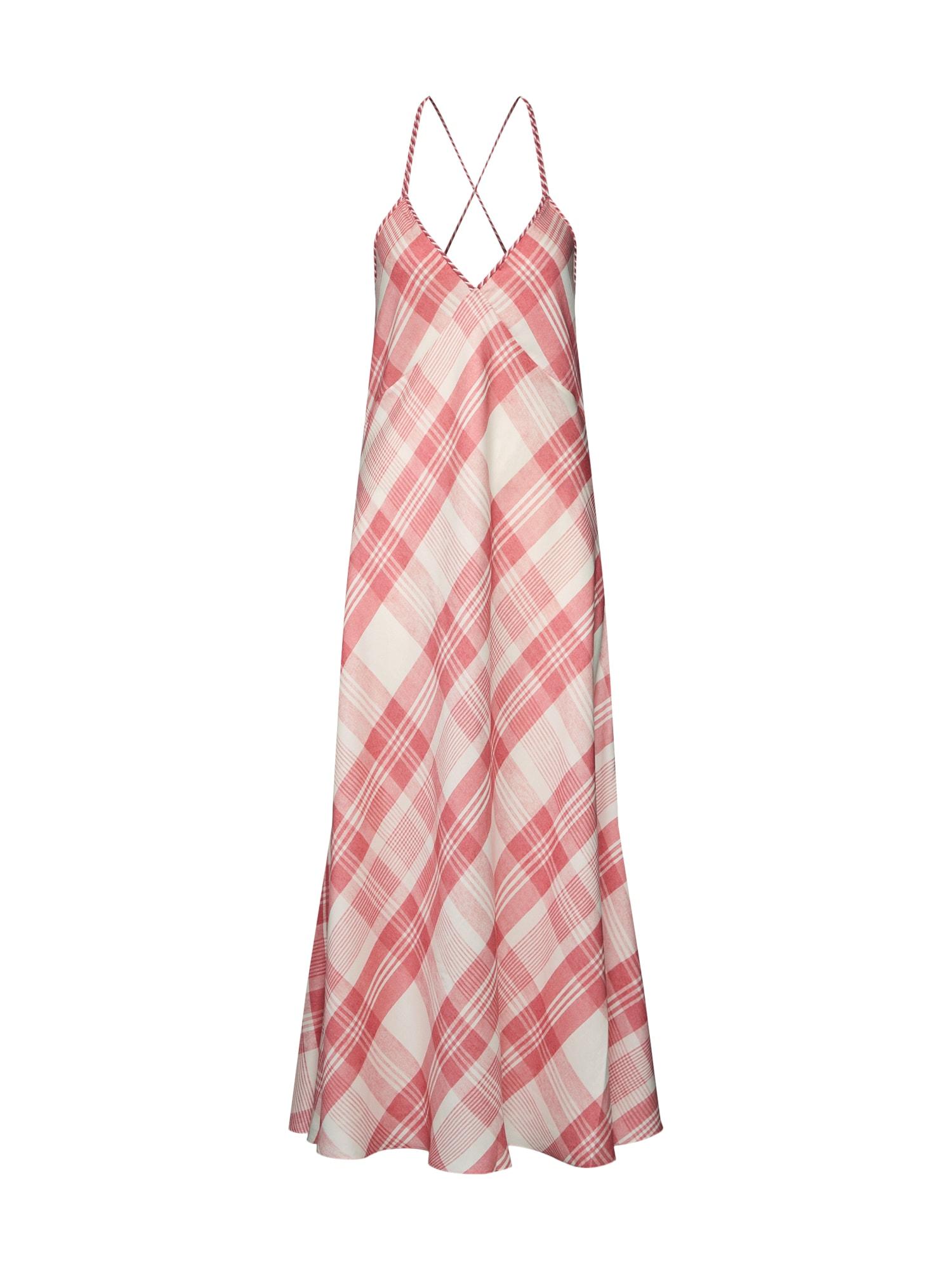 Letní šaty růžová bílá POLO RALPH LAUREN