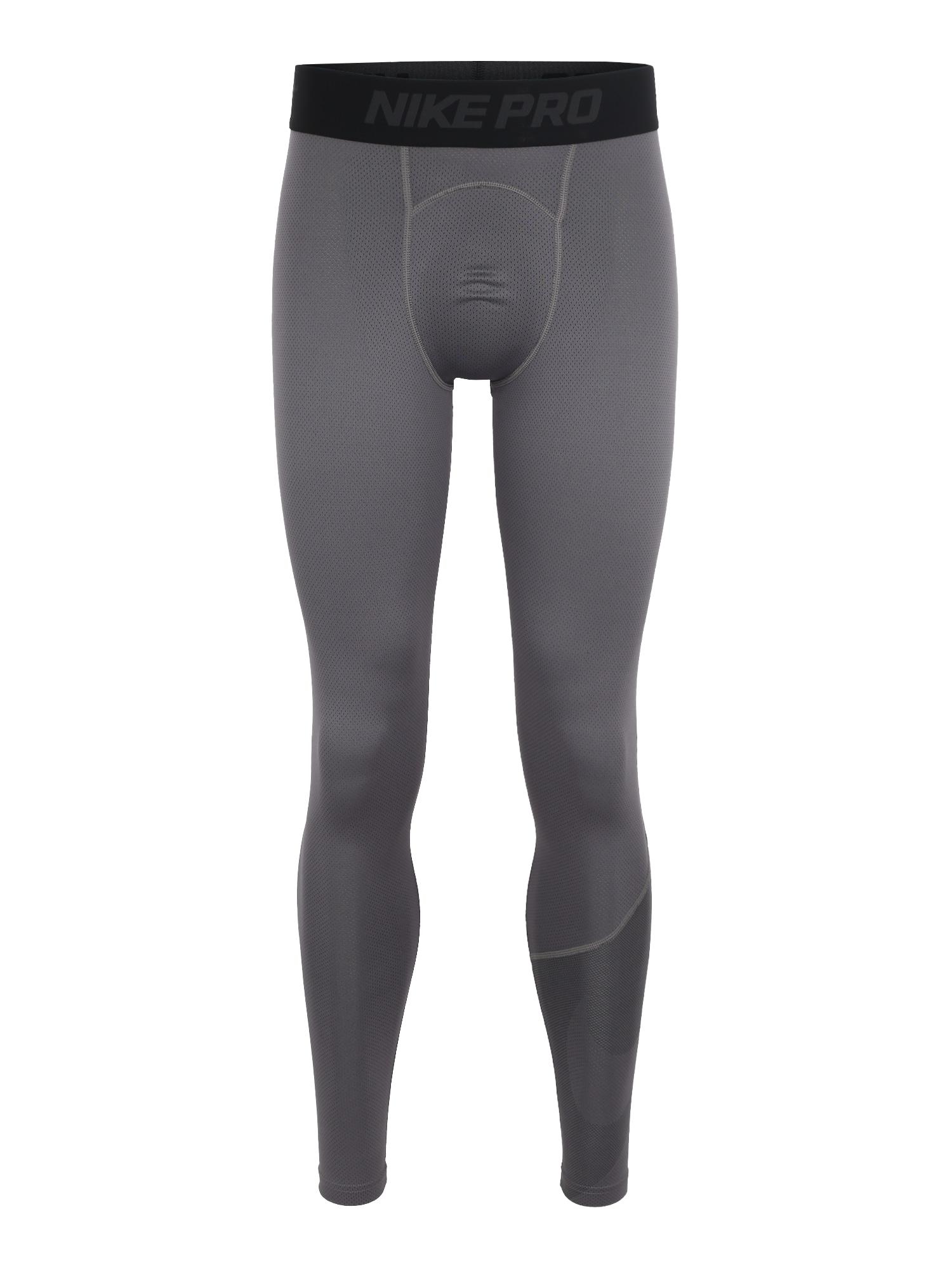 Sportovní kalhoty M NP TGHT HBR 2 šedý melír NIKE