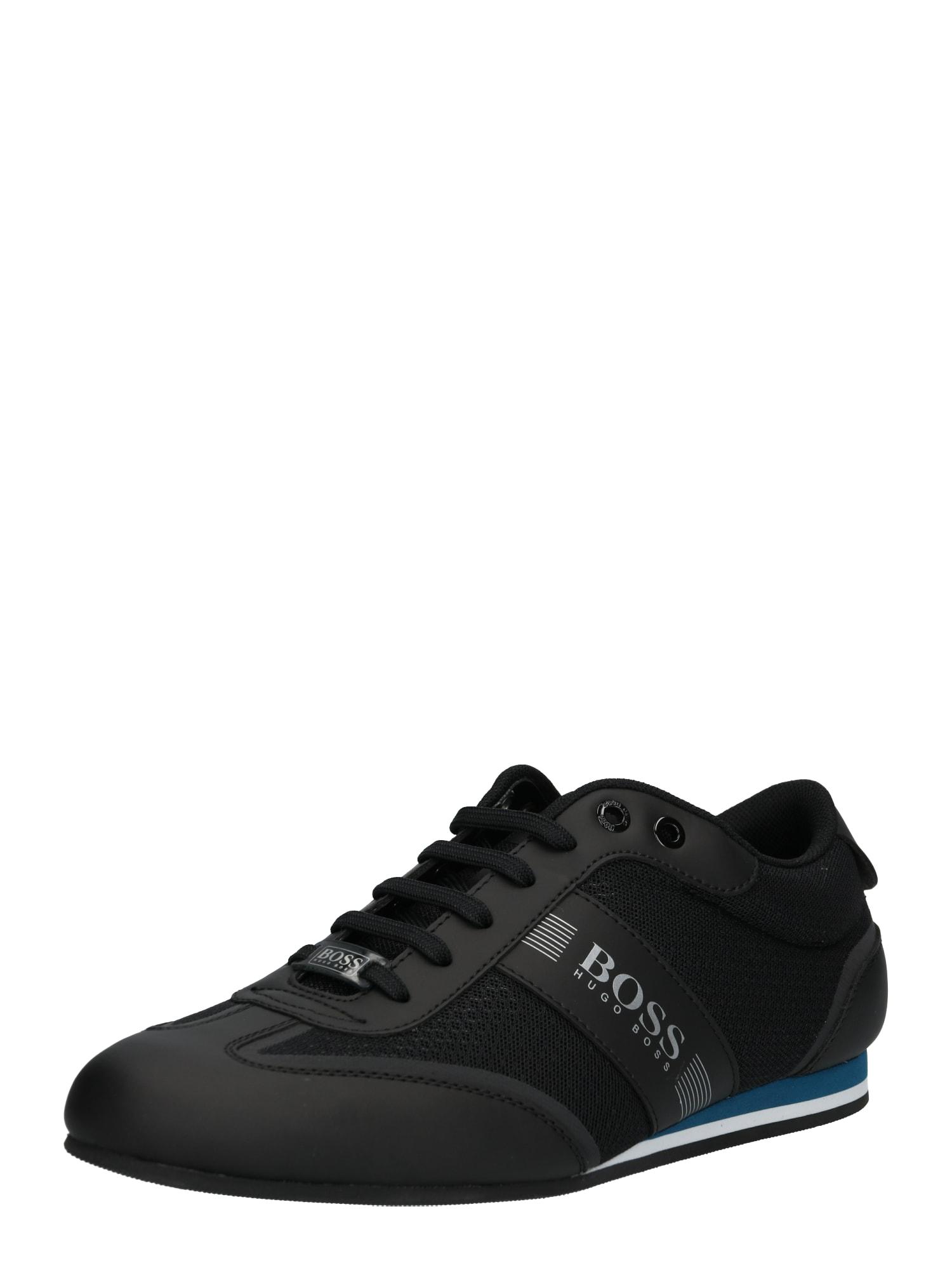 Sportovní šněrovací boty Ligter modrá černá BOSS
