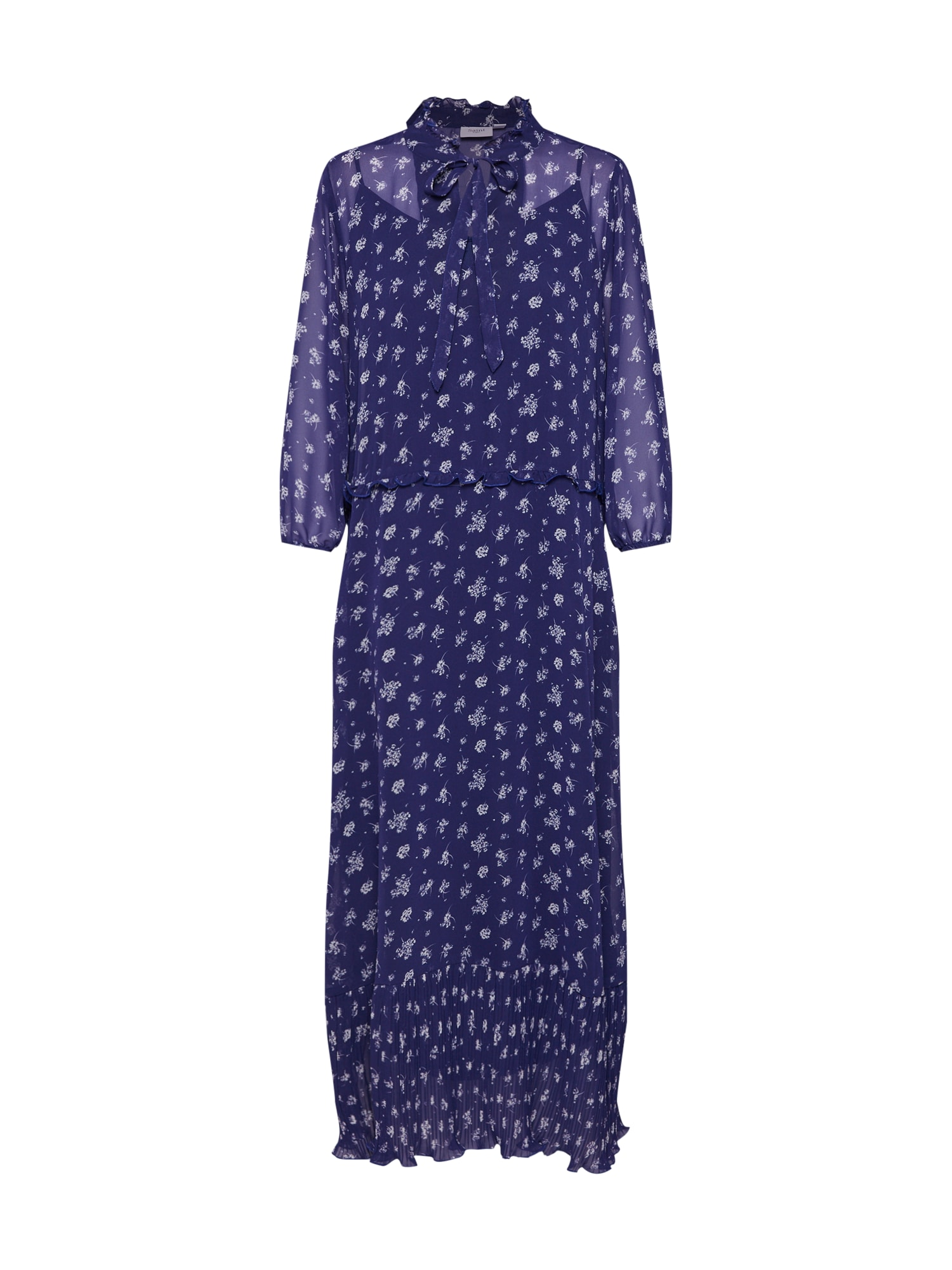 Letní šaty tmavě modrá bílá SAINT TROPEZ
