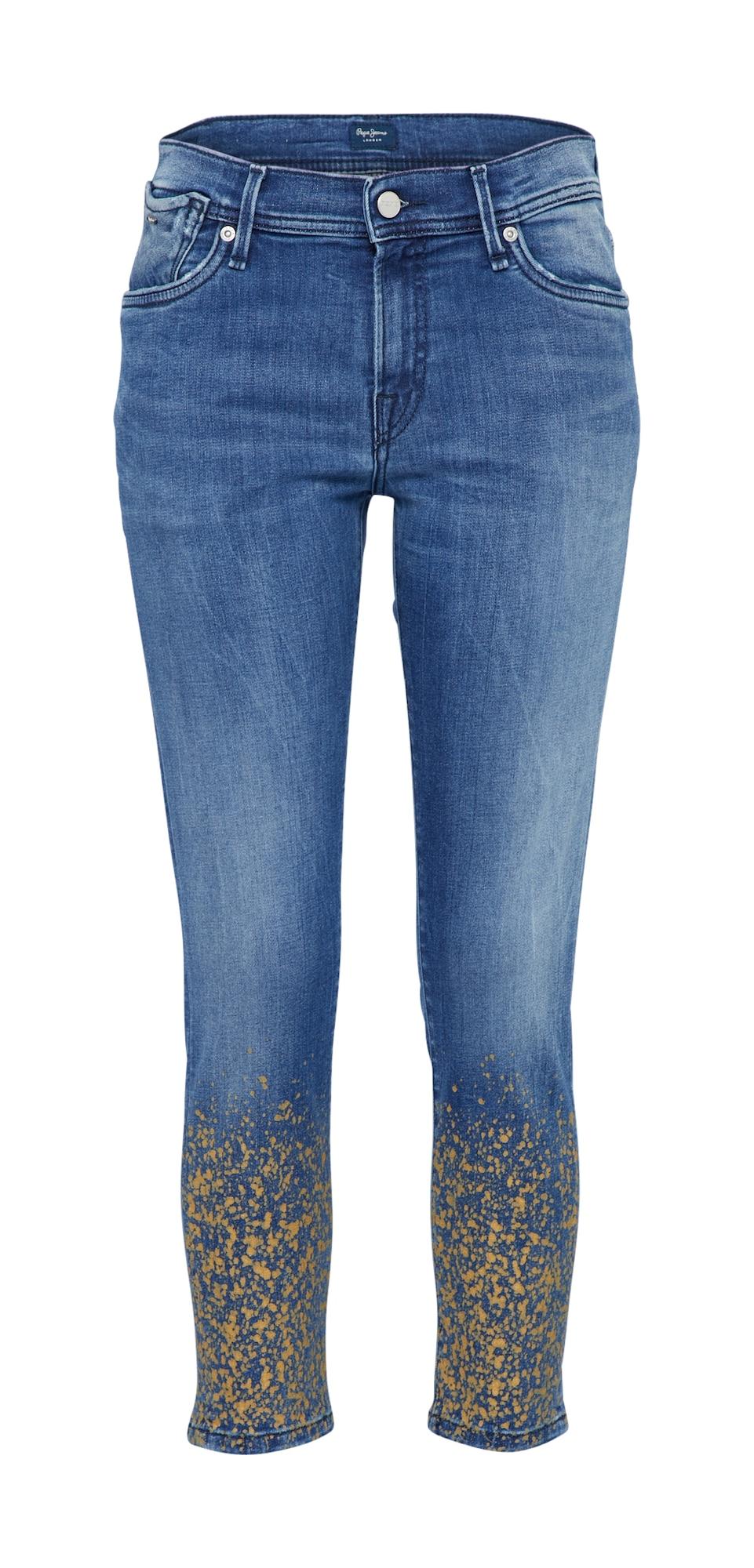 Pepe Jeans Dames Jeans JOEY GLITTER blauw