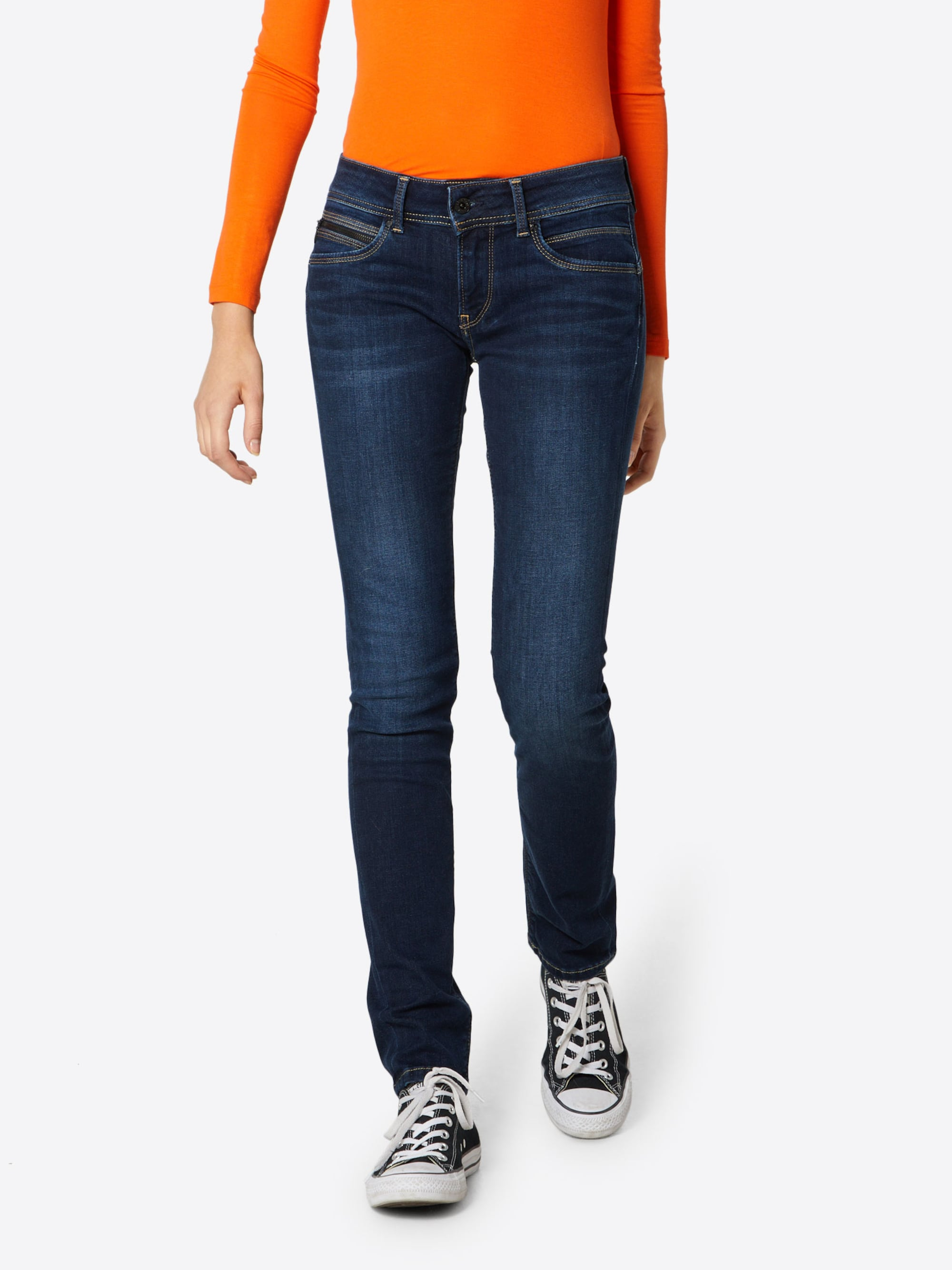 Pepe Jeans Jeansy 'New Brooke'  niebieski denim