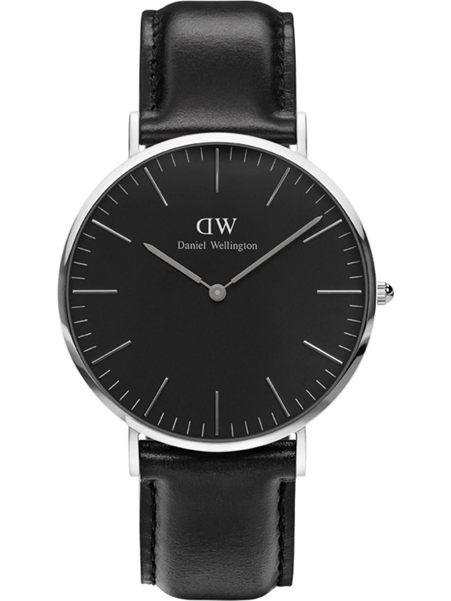 Armbanduhr   Uhren > Sonstige Armbanduhren   Schwarz - Silber   Daniel Wellington