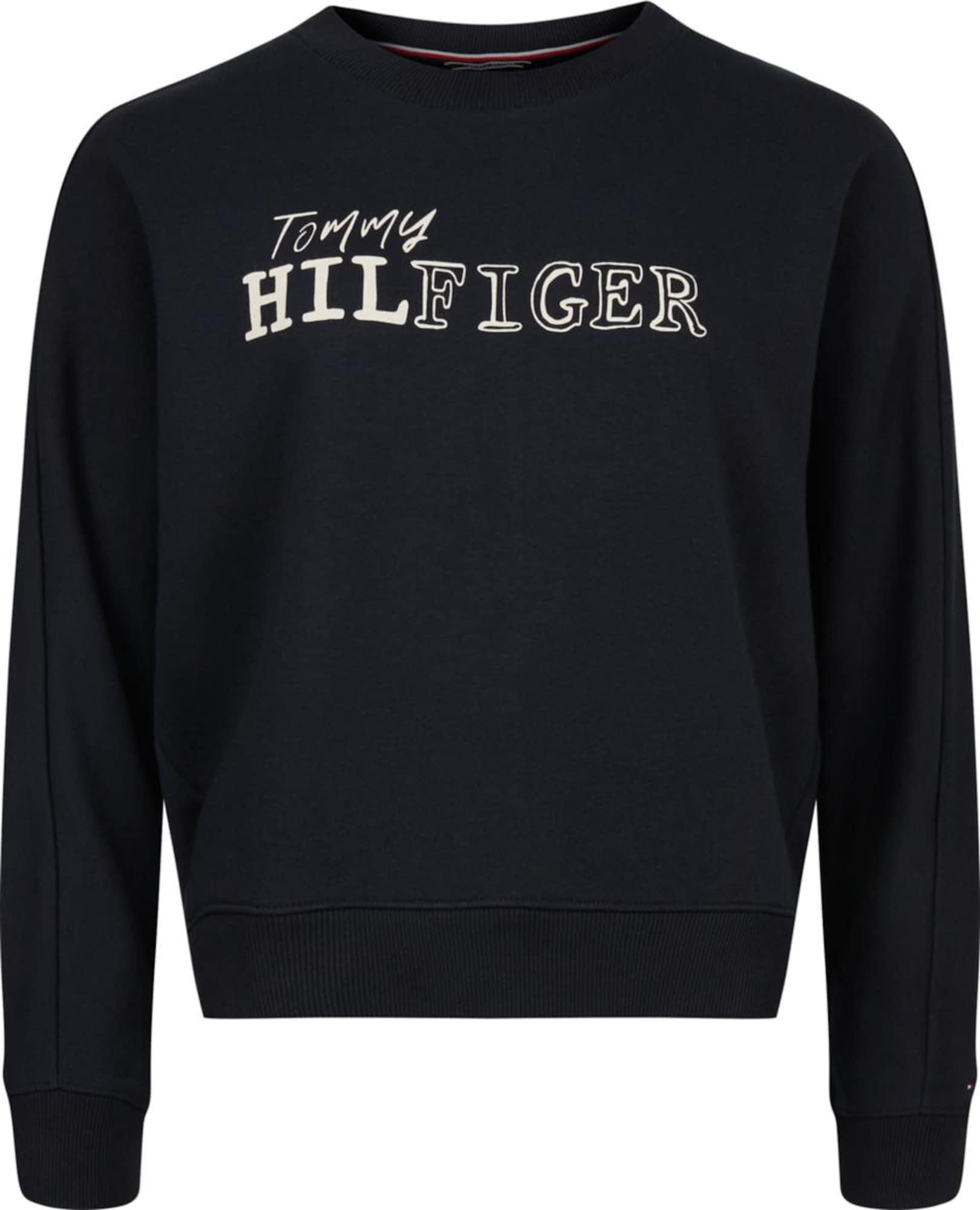 Tommy Hilfiger Eline sweater met logoprint
