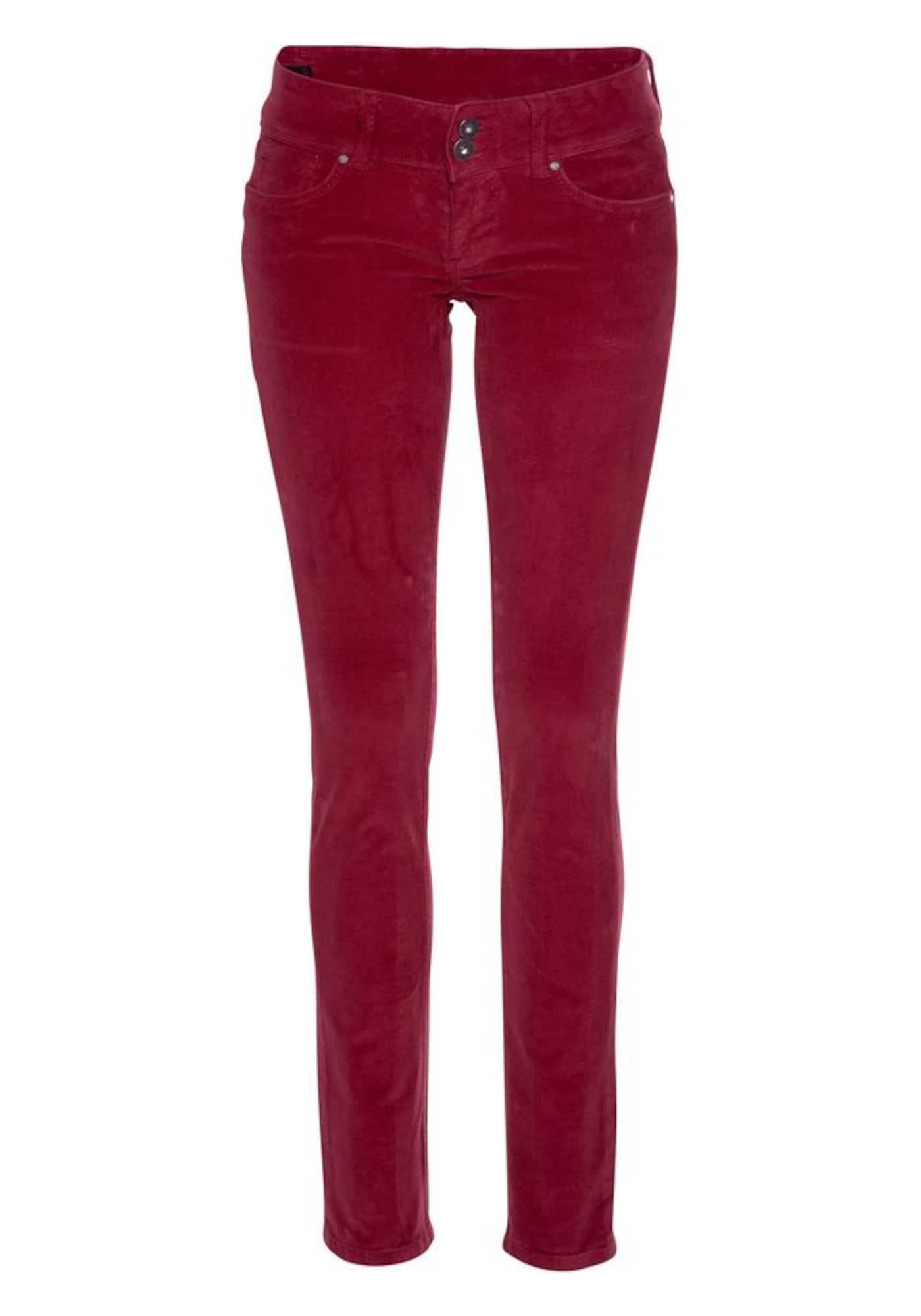 Kalhoty VERA červená Pepe Jeans