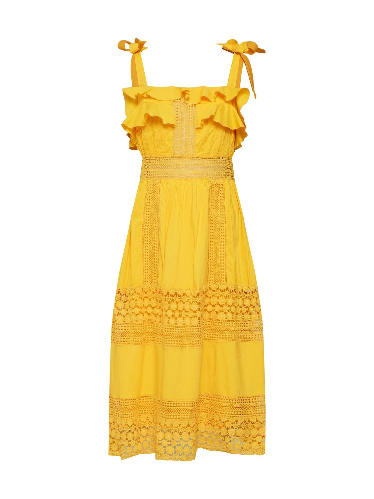 Šaty Emeline žlutá By Malina