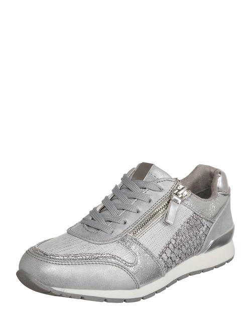 Sneaker im Metallic-Look