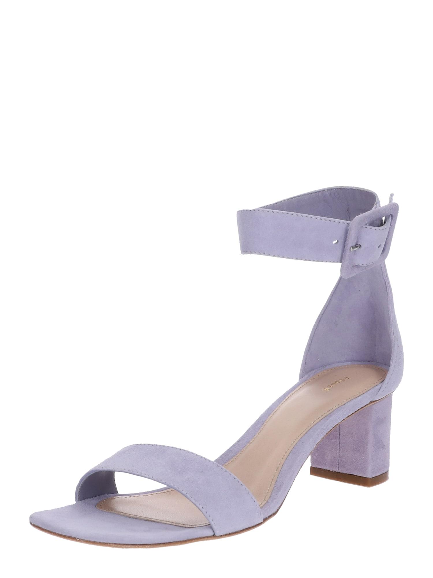 Páskové sandály Frances Mid Heel Sandal fialová Filippa K