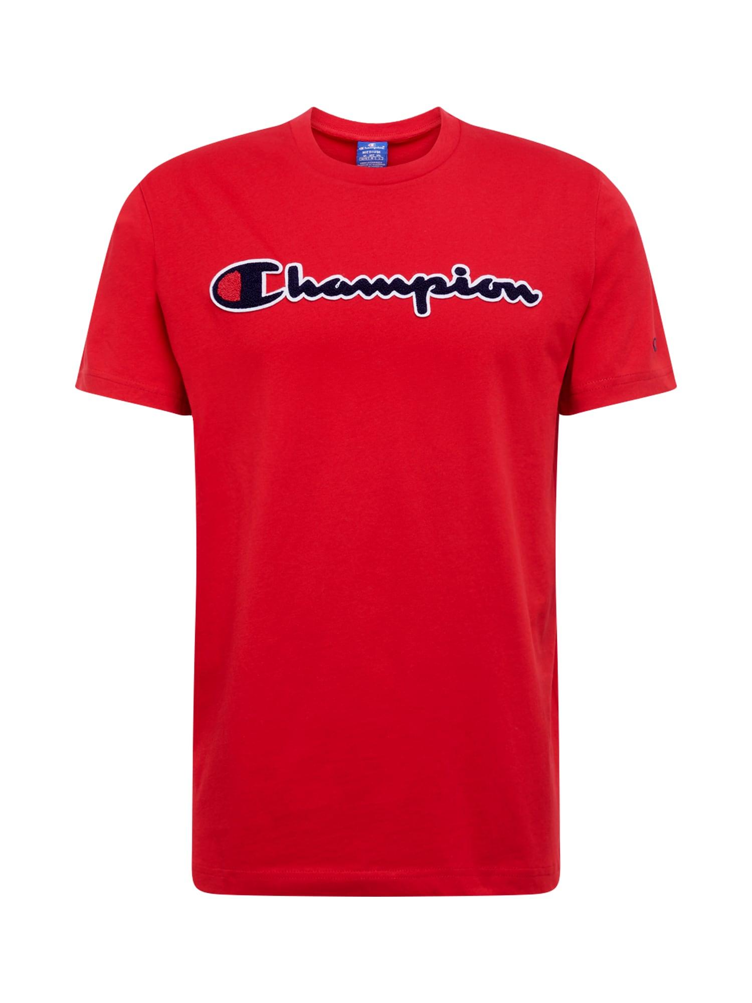 Champion Authentic Athletic Apparel Tričko 'Crewneck'  jasně červená
